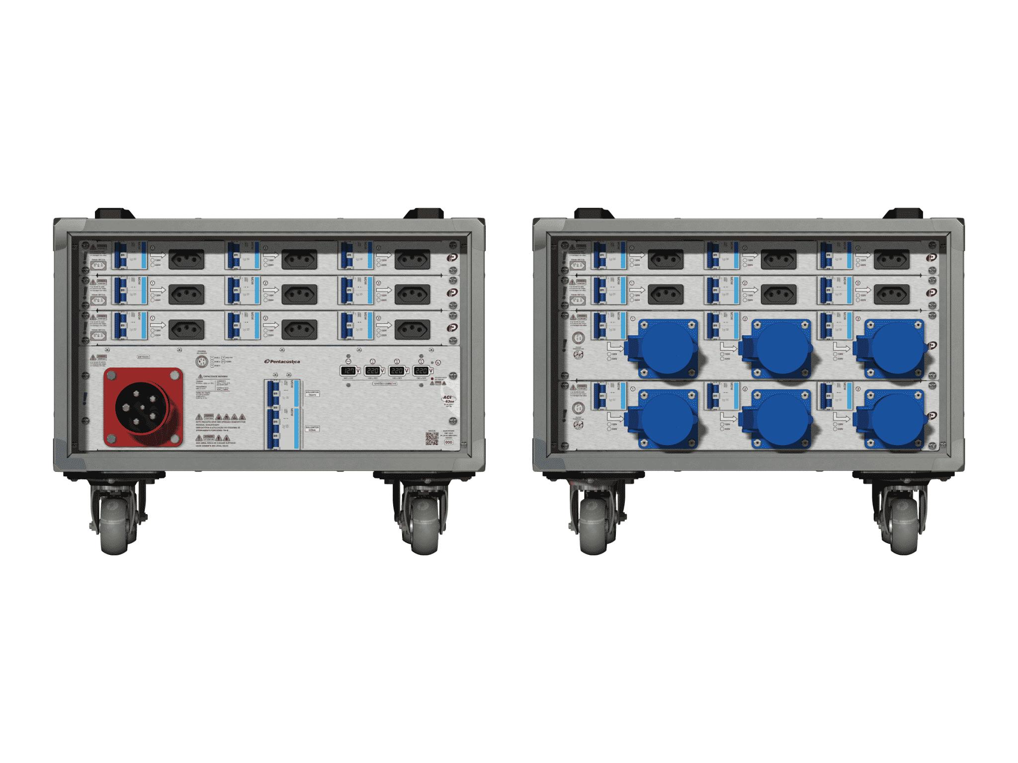Main power RMP-63se, 5 polos, 3F+N (380VD/220VY), V014