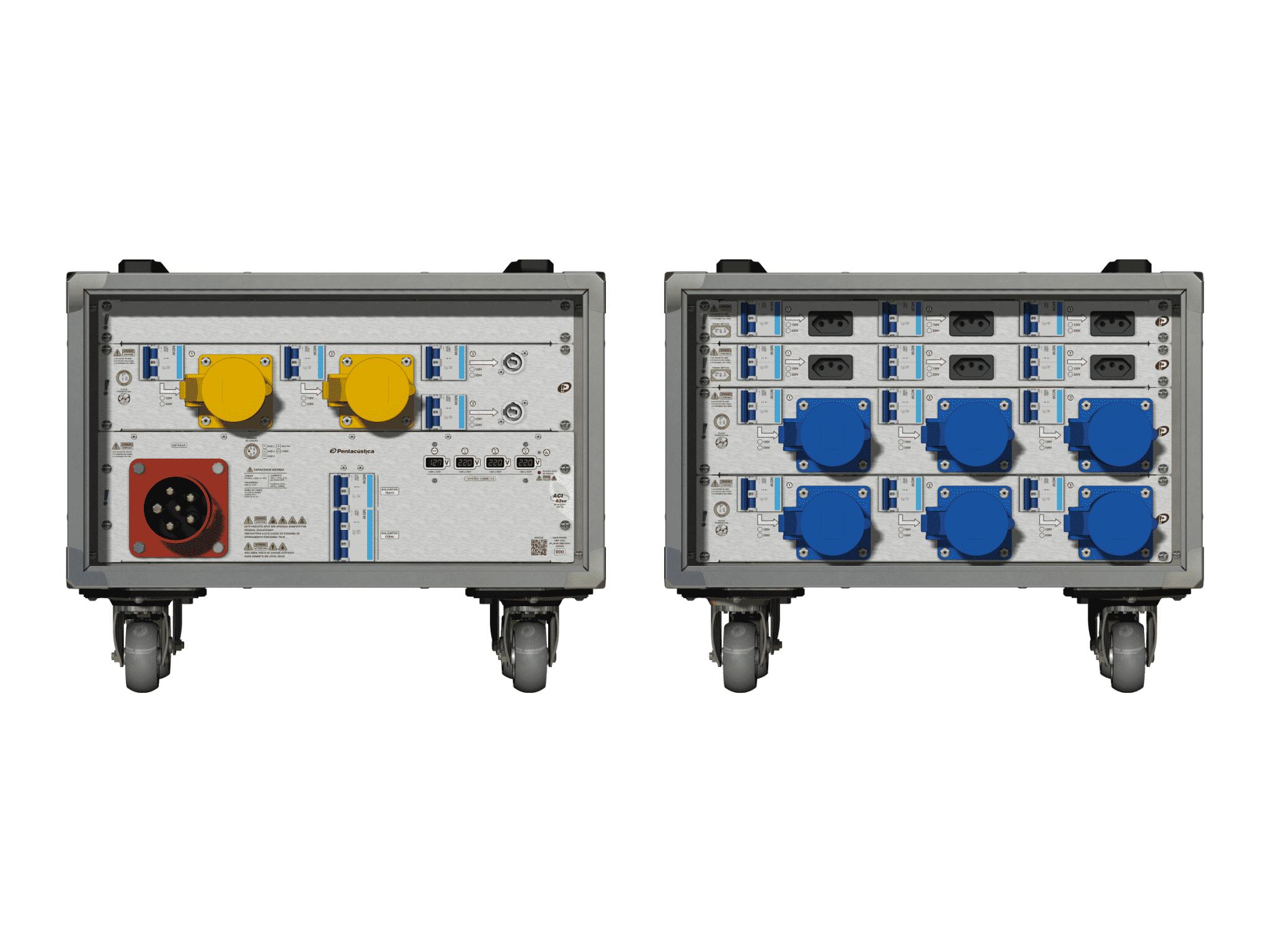 Main power RMP-63se, 5 polos, 3F+N (380VD/220VY), V015