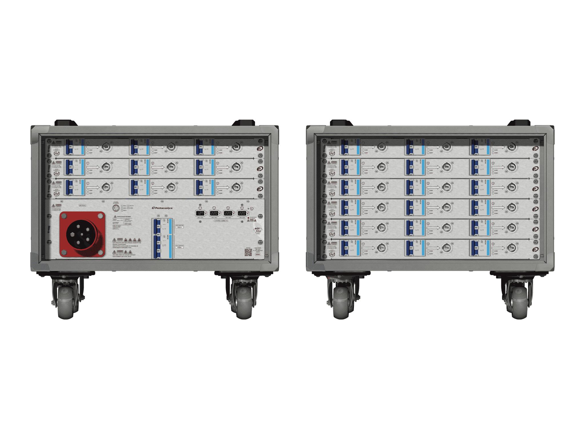Main power RMP-63se, 5 polos, 3F+N (380VD/220VY), V025