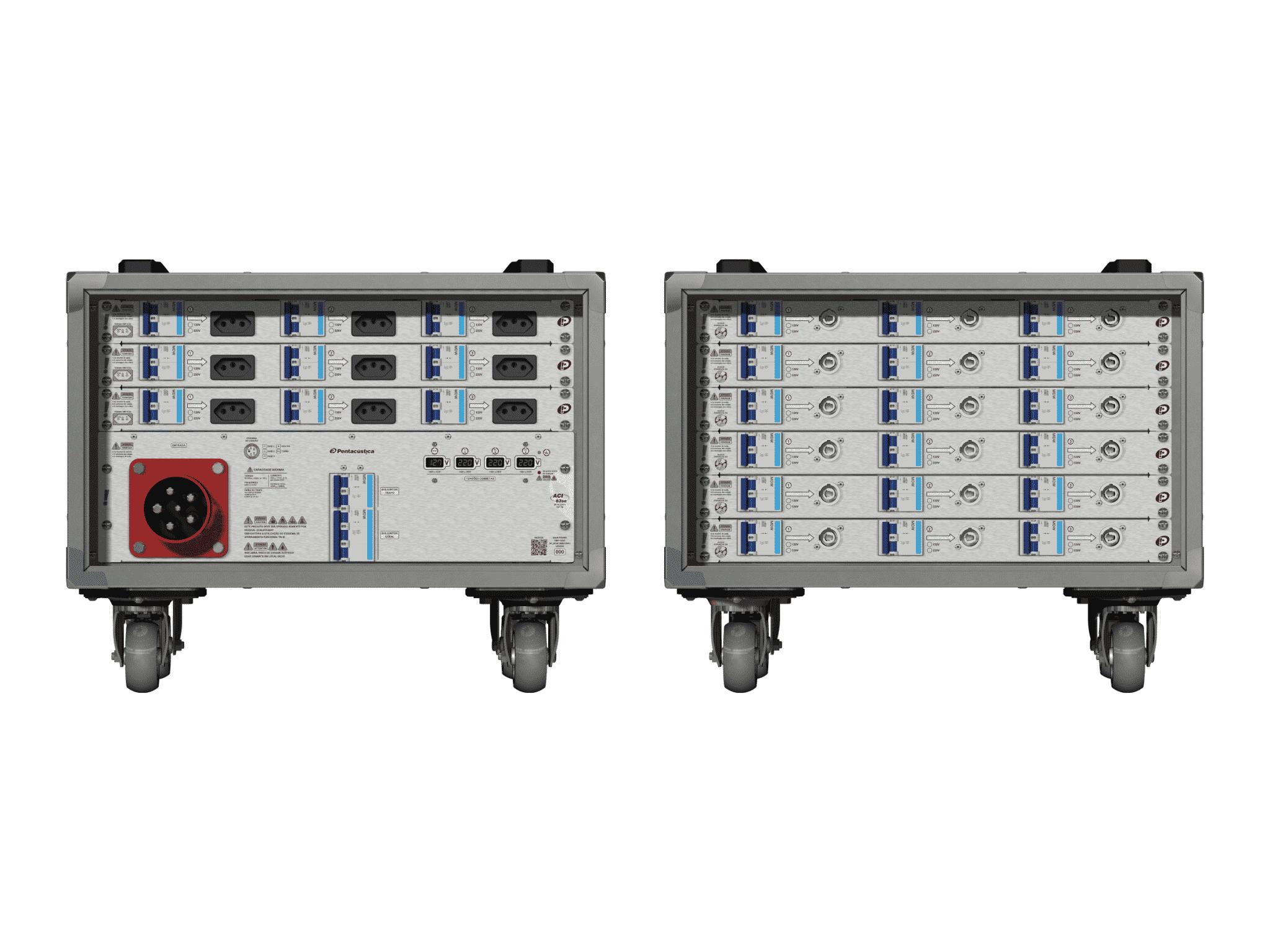 Main power RMP-63se, 5 polos, 3F+N (380VD/220VY), V026
