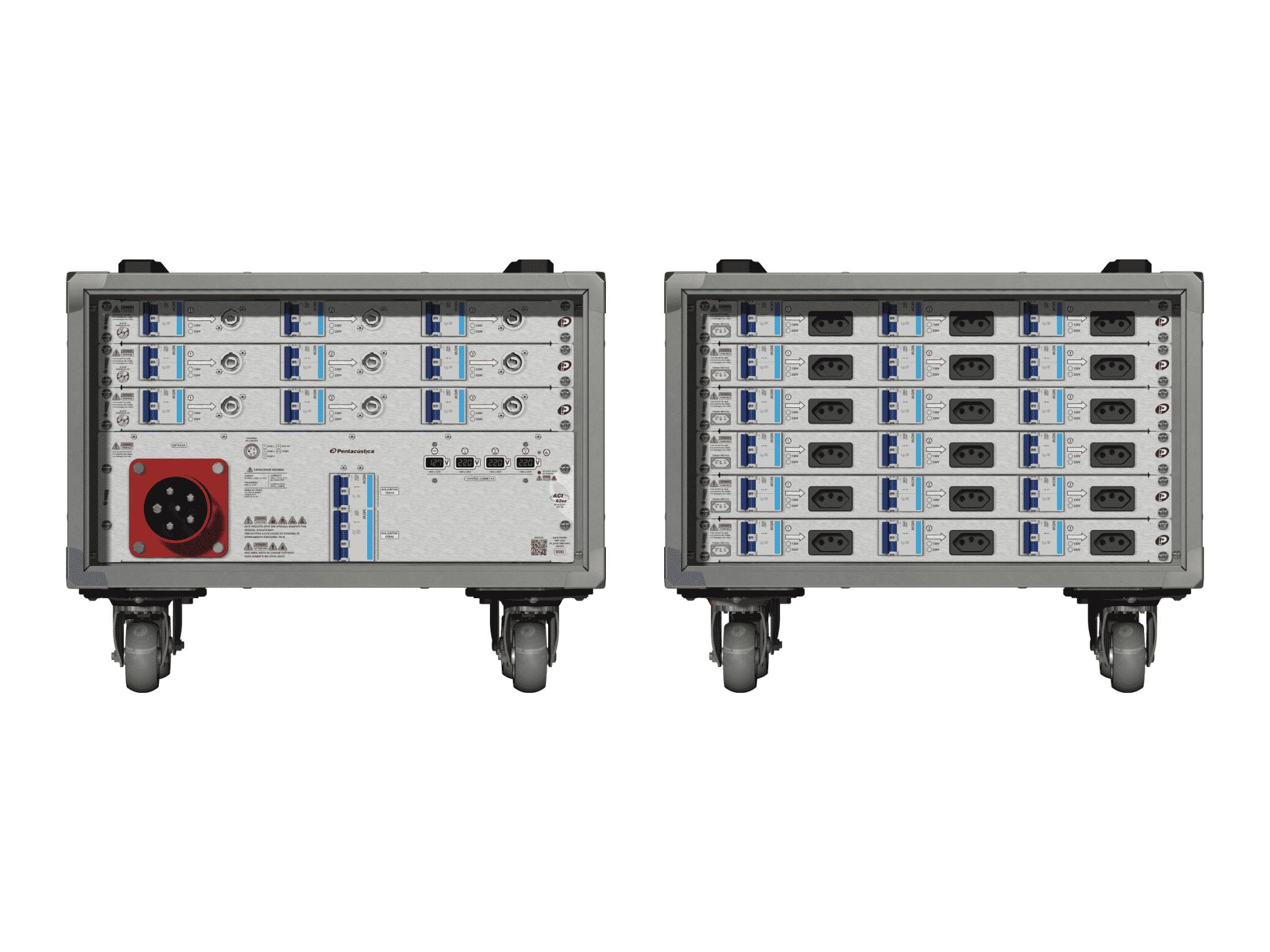 Main power RMP-63se, 5 polos, 3F+N (380VD/220VY), V029