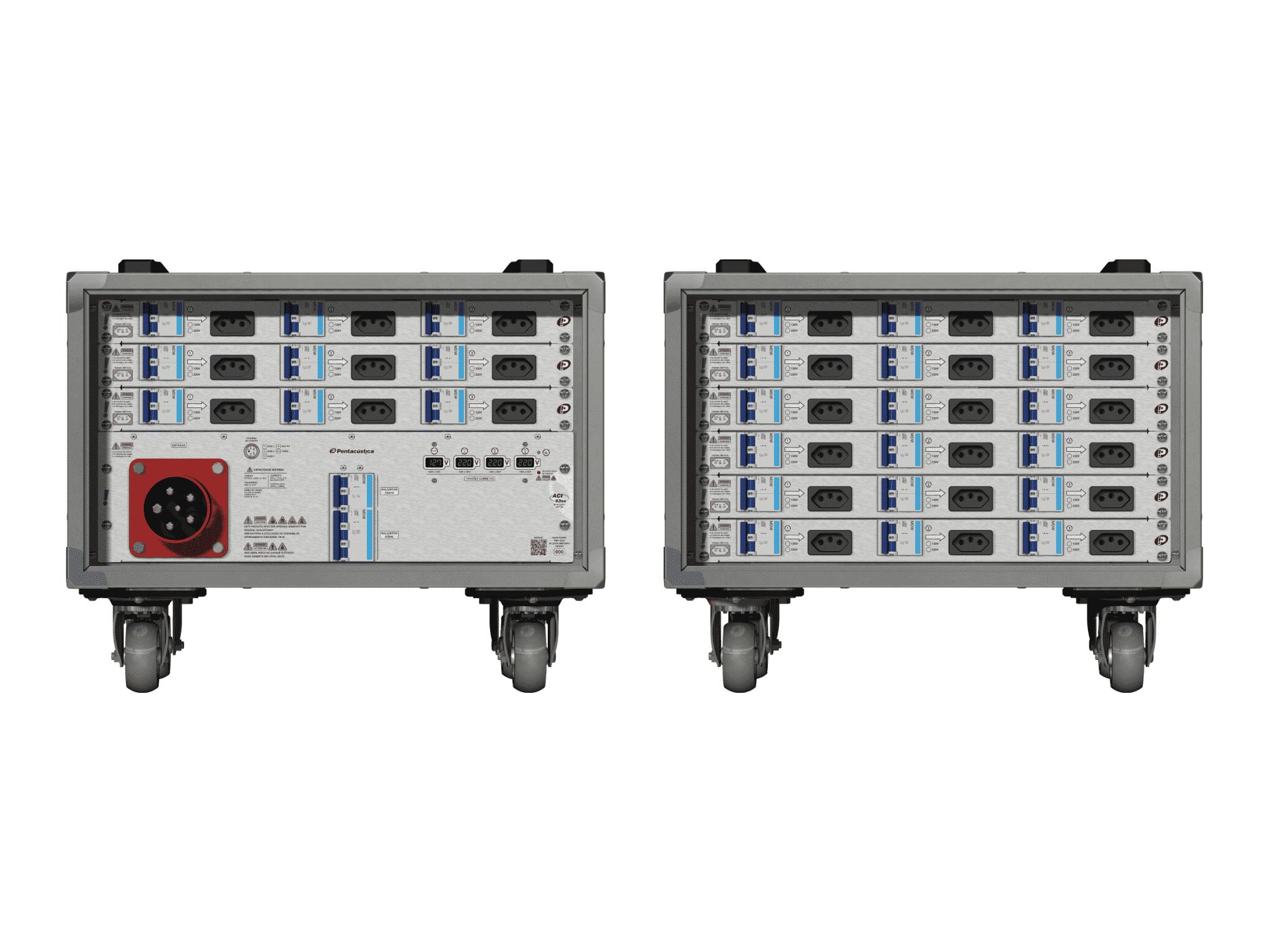 Main power RMP-63se, 5 polos, 3F+N (380VD/220VY), V030