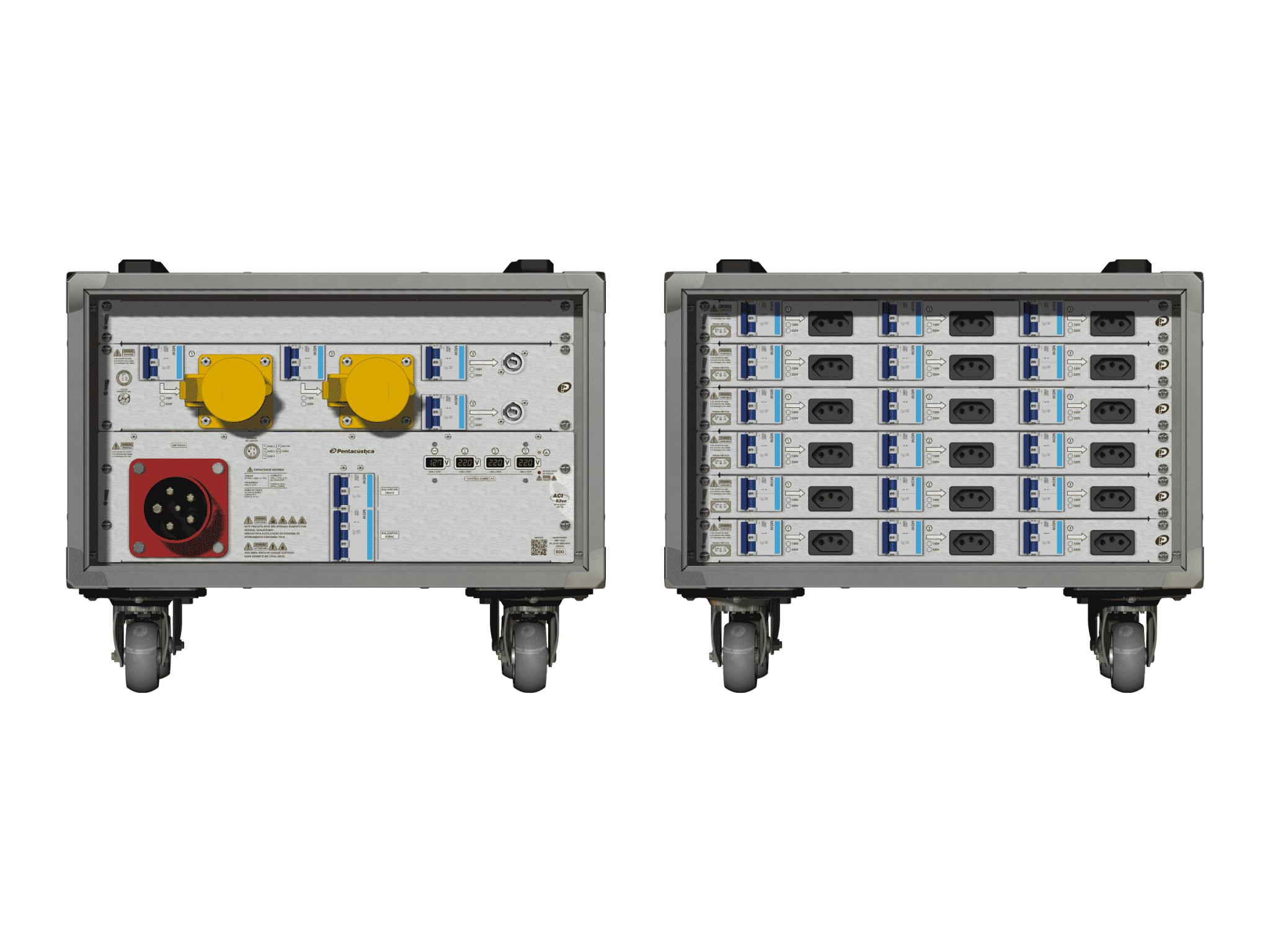 Main power RMP-63se, 5 polos, 3F+N (380VD/220VY), V031