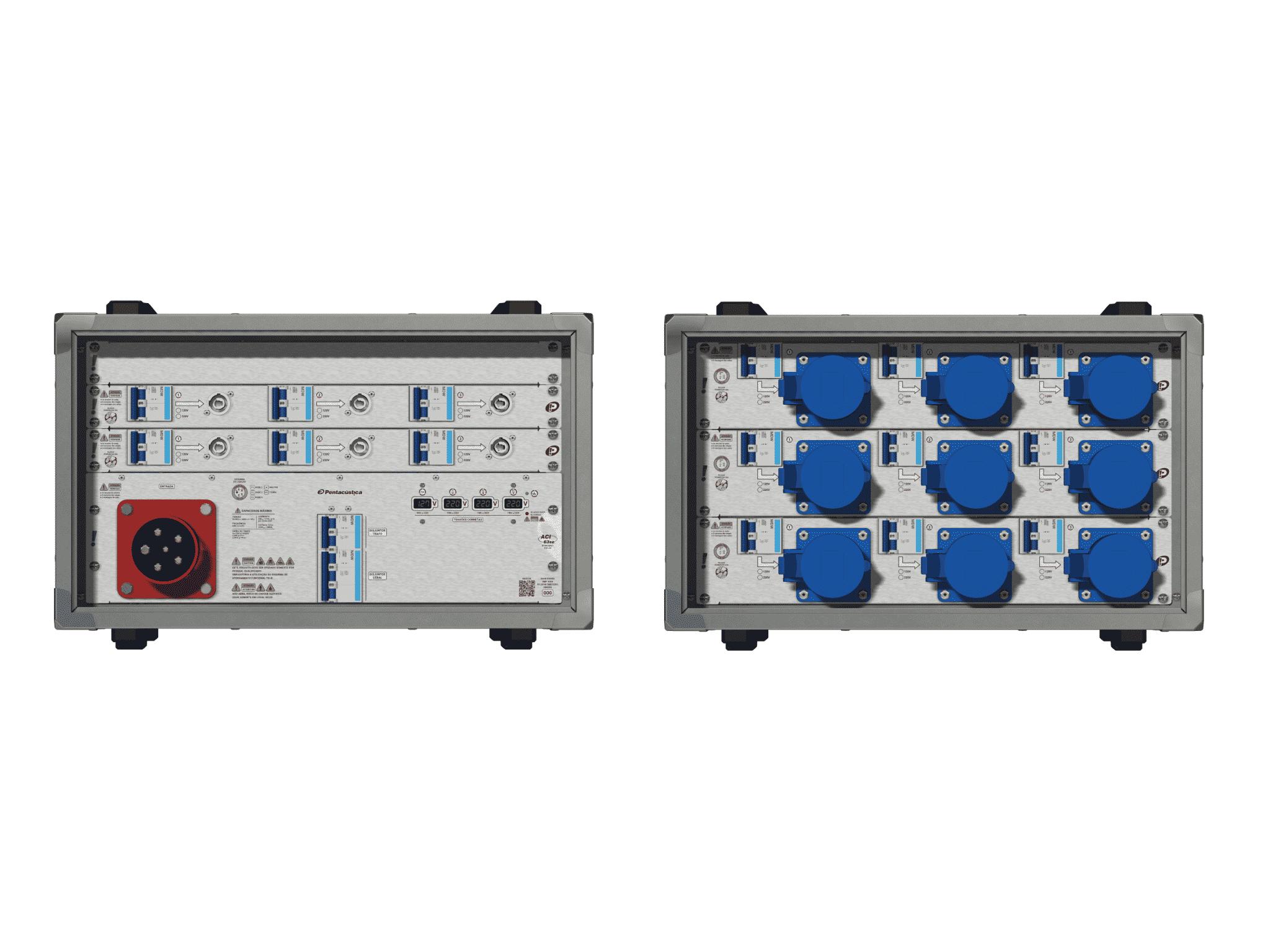 Main power RMP-63se, 5 polos, 3F+N (380VD/220VY), V069