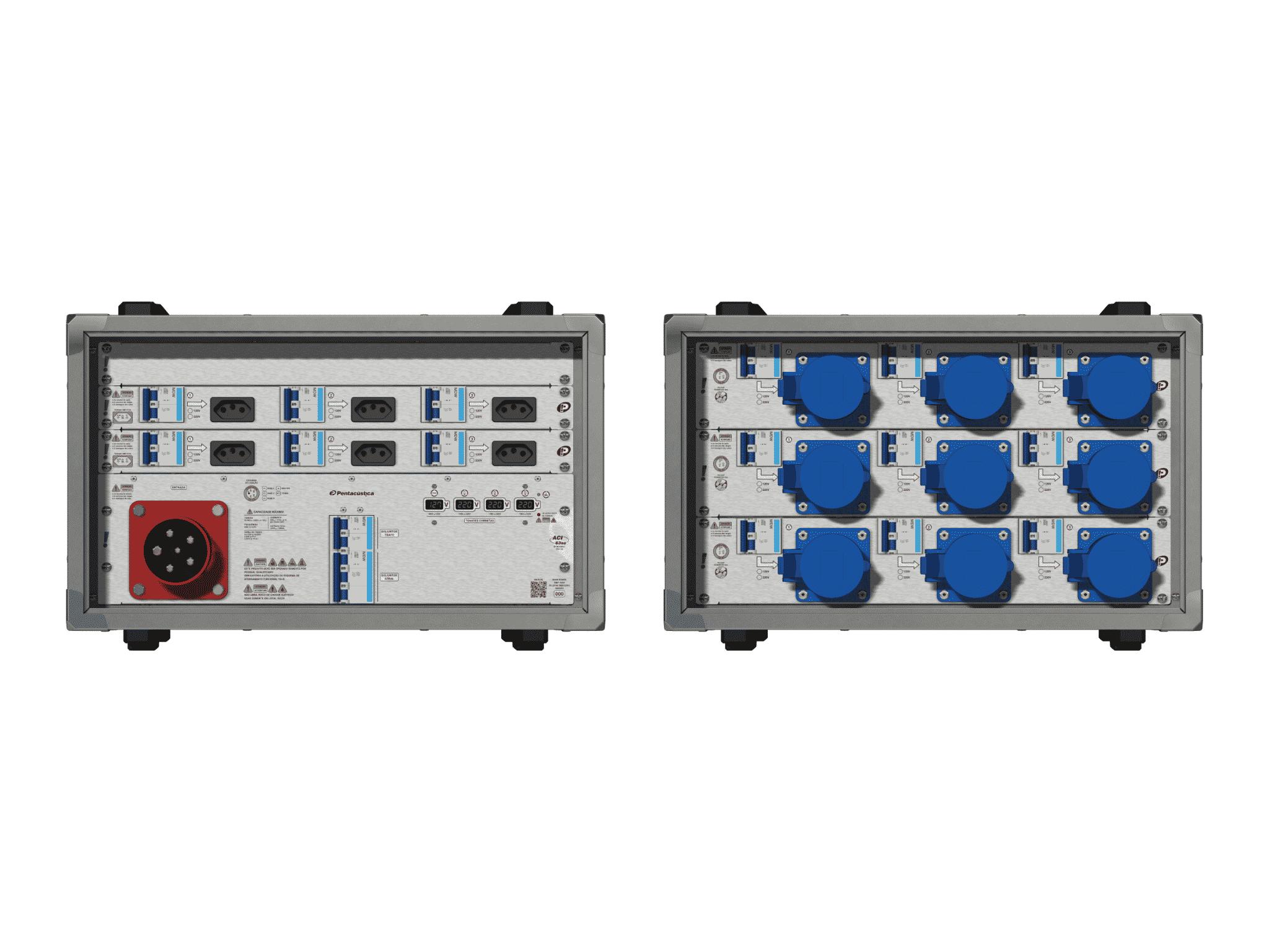 Main power RMP-63se, 5 polos, 3F+N (380VD/220VY), V070