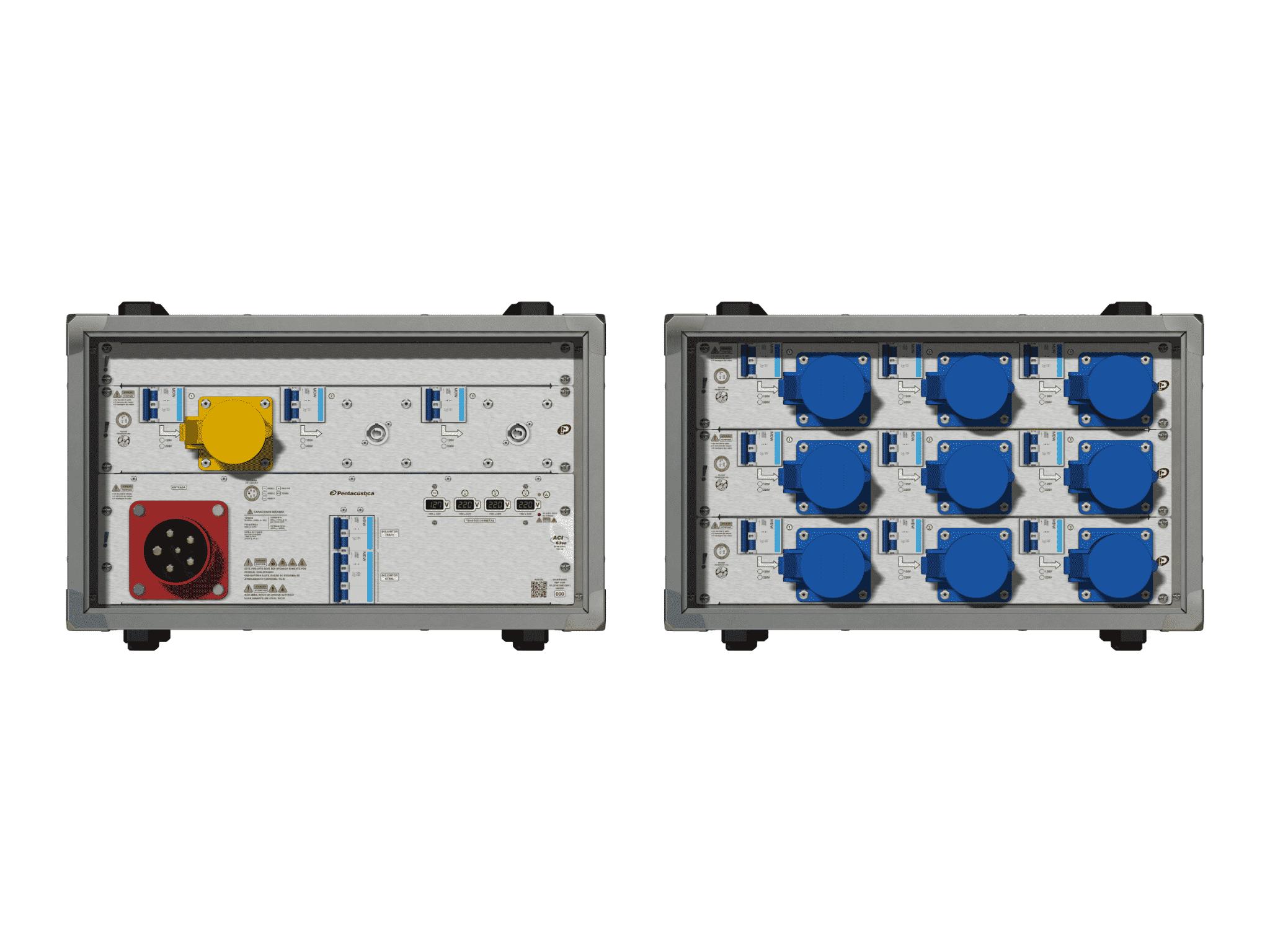Main power RMP-63se, 5 polos, 3F+N (380VD/220VY), V071