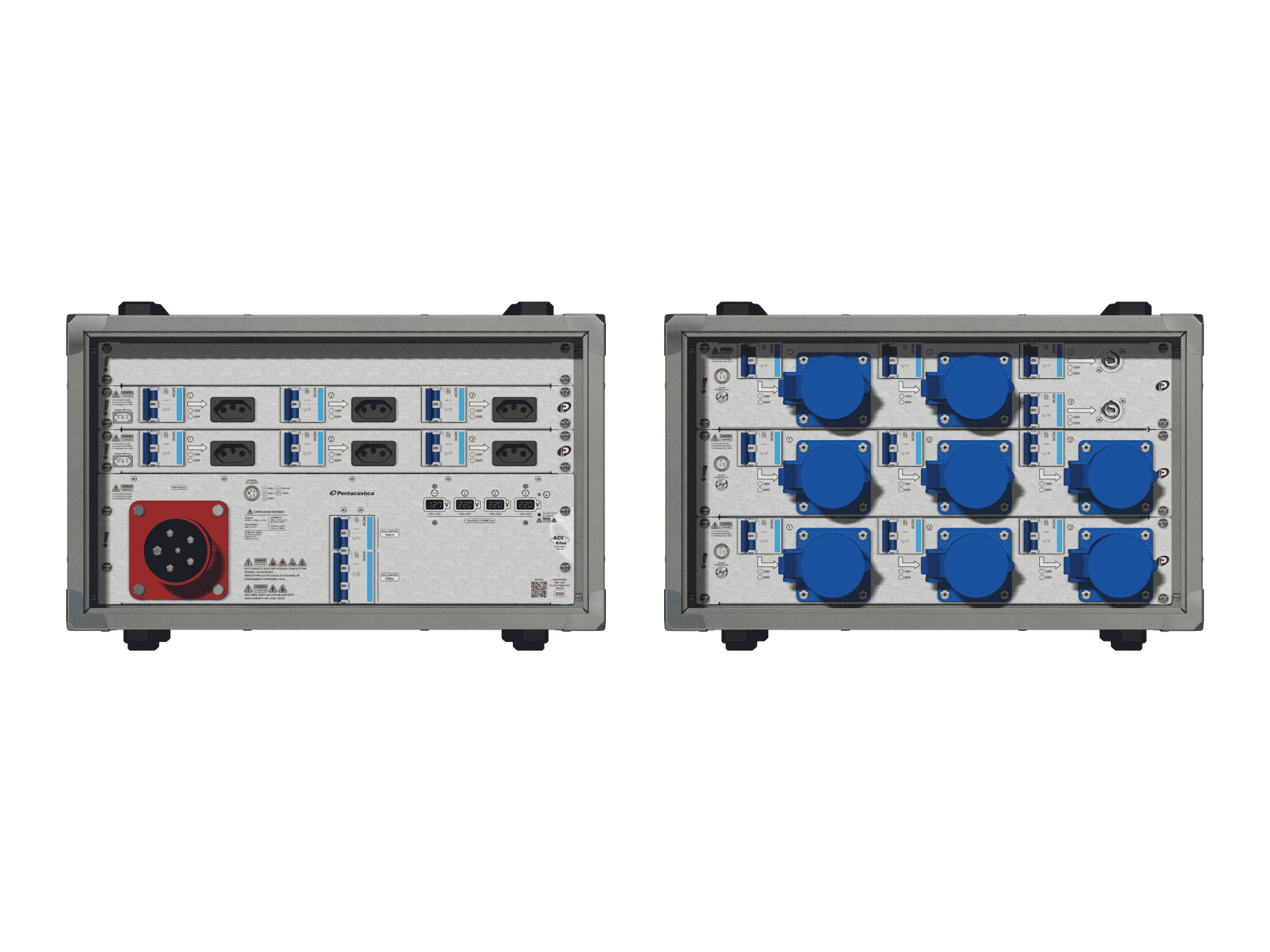 Main power RMP-63se, 5 polos, 3F+N (380VD/220VY), V074