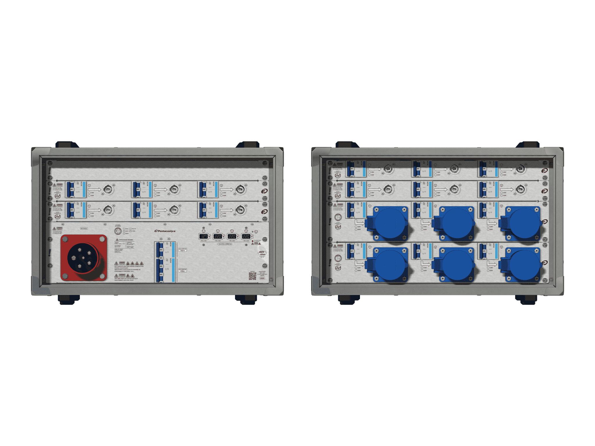 Main power RMP-63se, 5 polos, 3F+N (380VD/220VY), V077