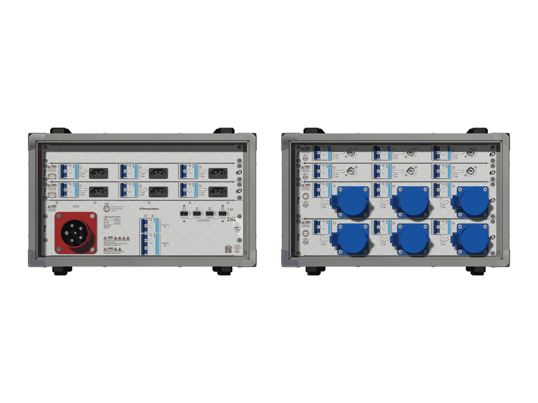 Main power RMP-63se, 5 polos, 3F+N (380VD/220VY), V078