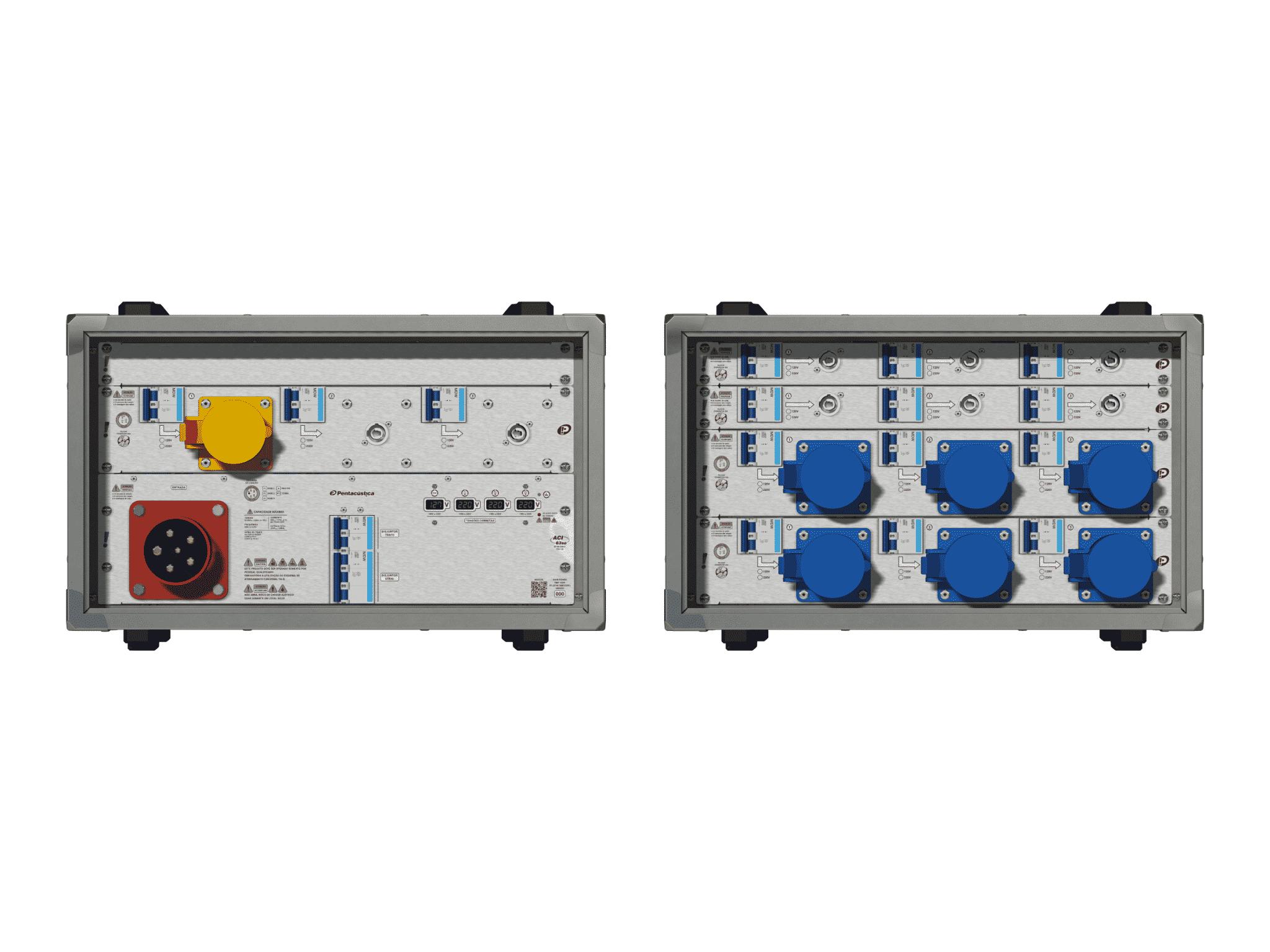 Main power RMP-63se, 5 polos, 3F+N (380VD/220VY), V079