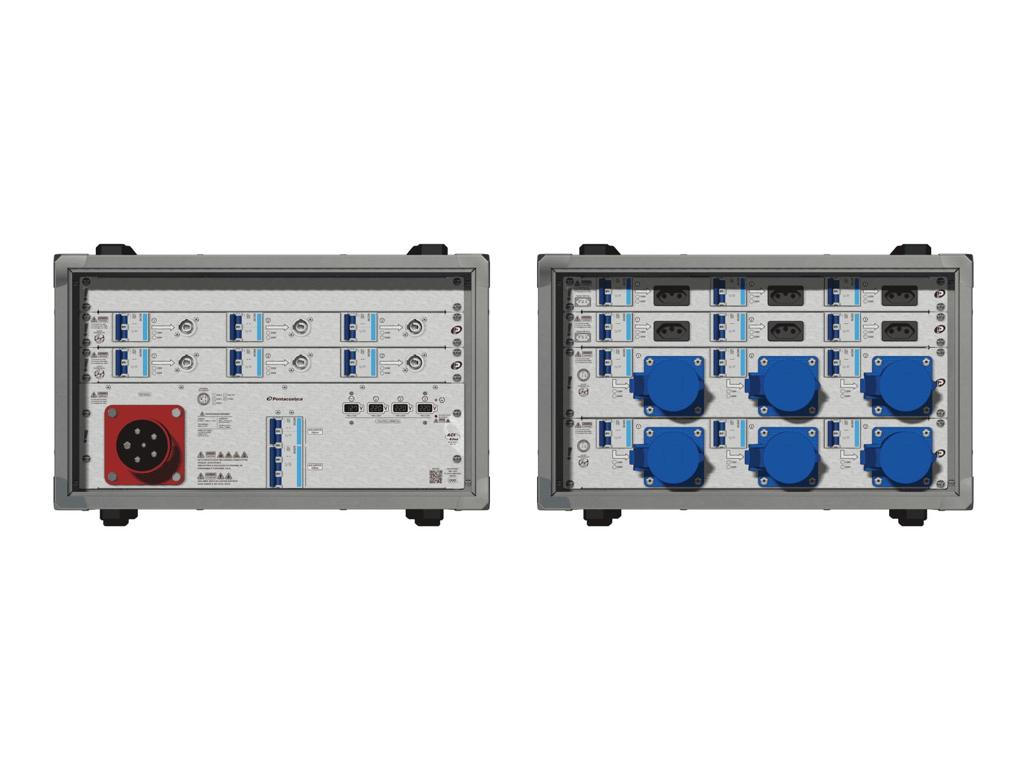 Main power RMP-63se, 5 polos, 3F+N (380VD/220VY), V081