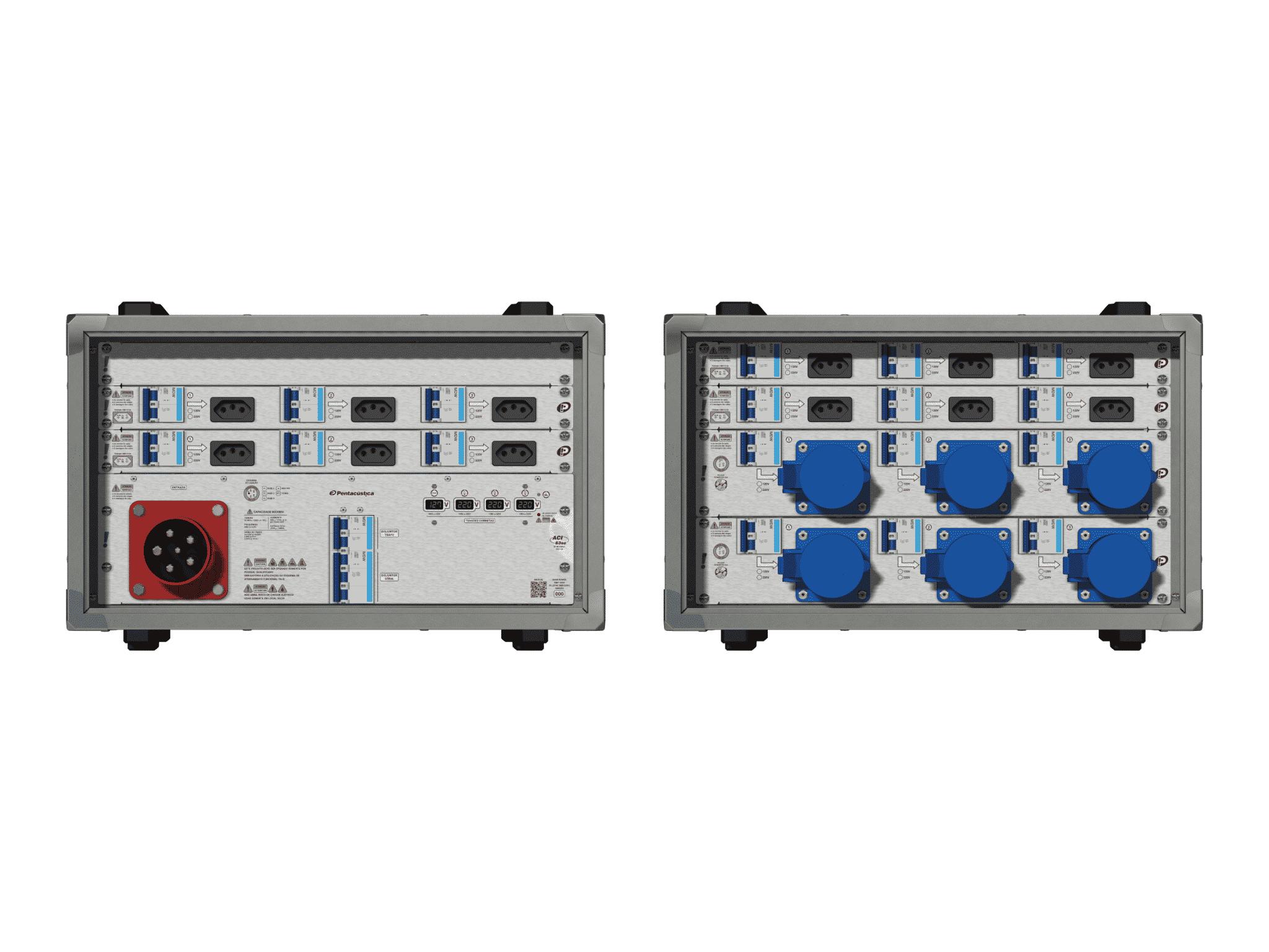 Main power RMP-63se, 5 polos, 3F+N (380VD/220VY), V082