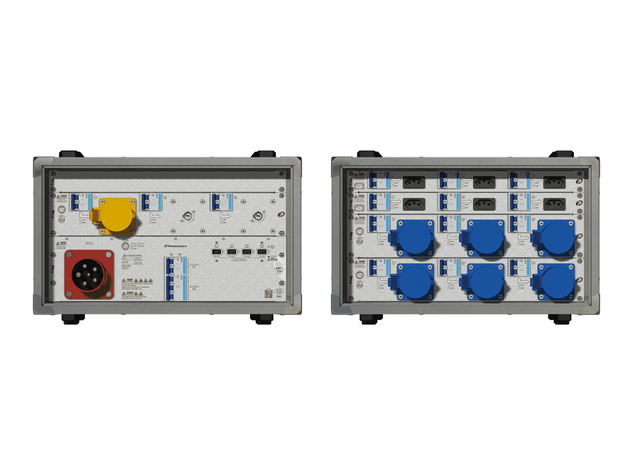 Main power RMP-63se, 5 polos, 3F+N (380VD/220VY), V083
