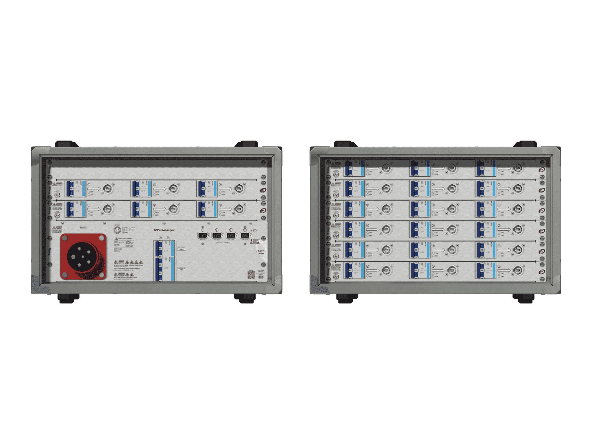 Main power RMP-63se, 5 polos, 3F+N (380VD/220VY), V093