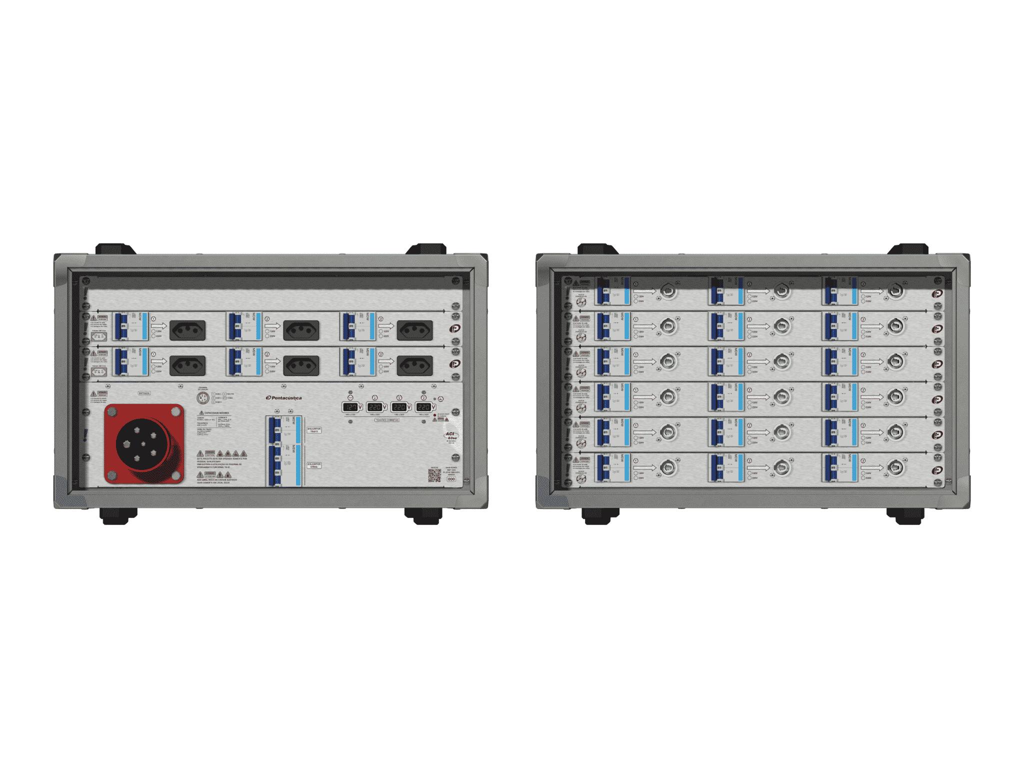 Main power RMP-63se, 5 polos, 3F+N (380VD/220VY), V094
