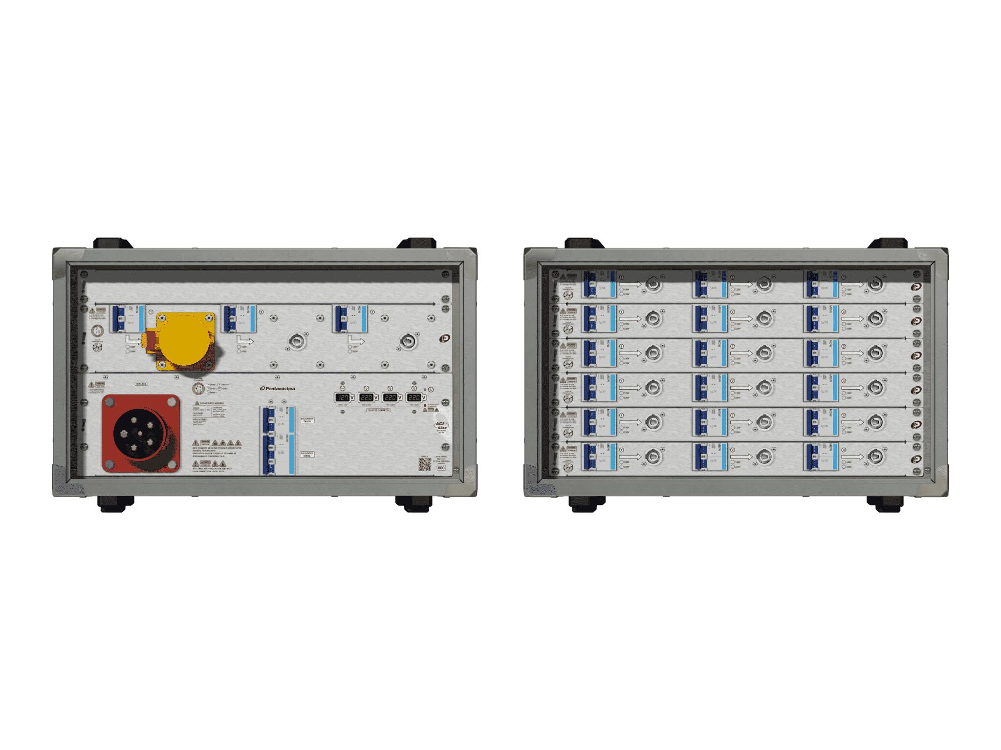 Main power RMP-63se, 5 polos, 3F+N (380VD/220VY), V095