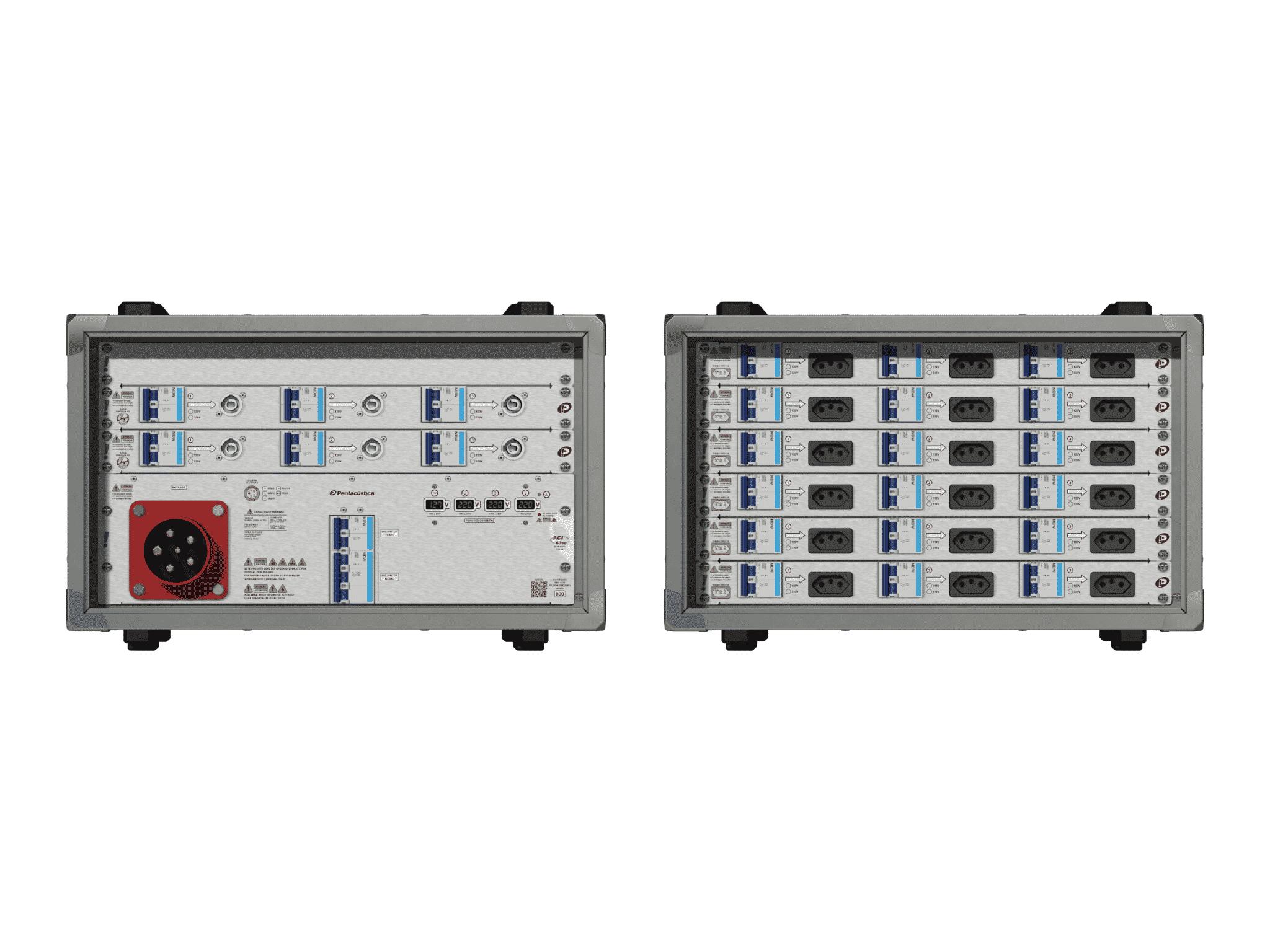Main power RMP-63se, 5 polos, 3F+N (380VD/220VY), V097