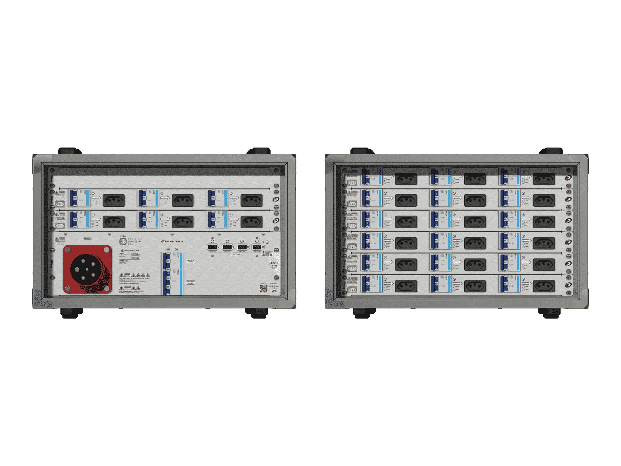 Main power RMP-63se, 5 polos, 3F+N (380VD/220VY), V098