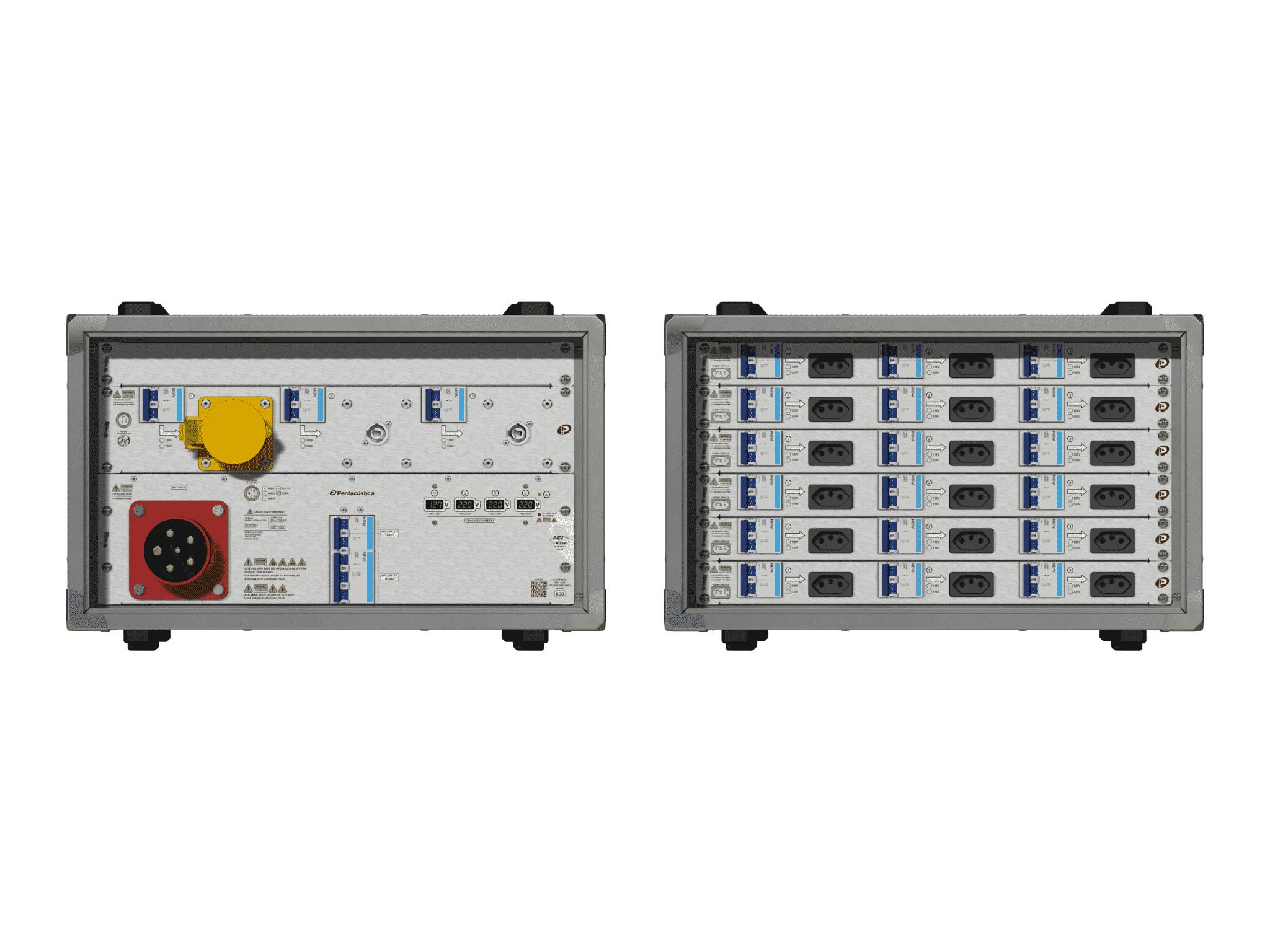 Main power RMP-63se, 5 polos, 3F+N (380VD/220VY), V099