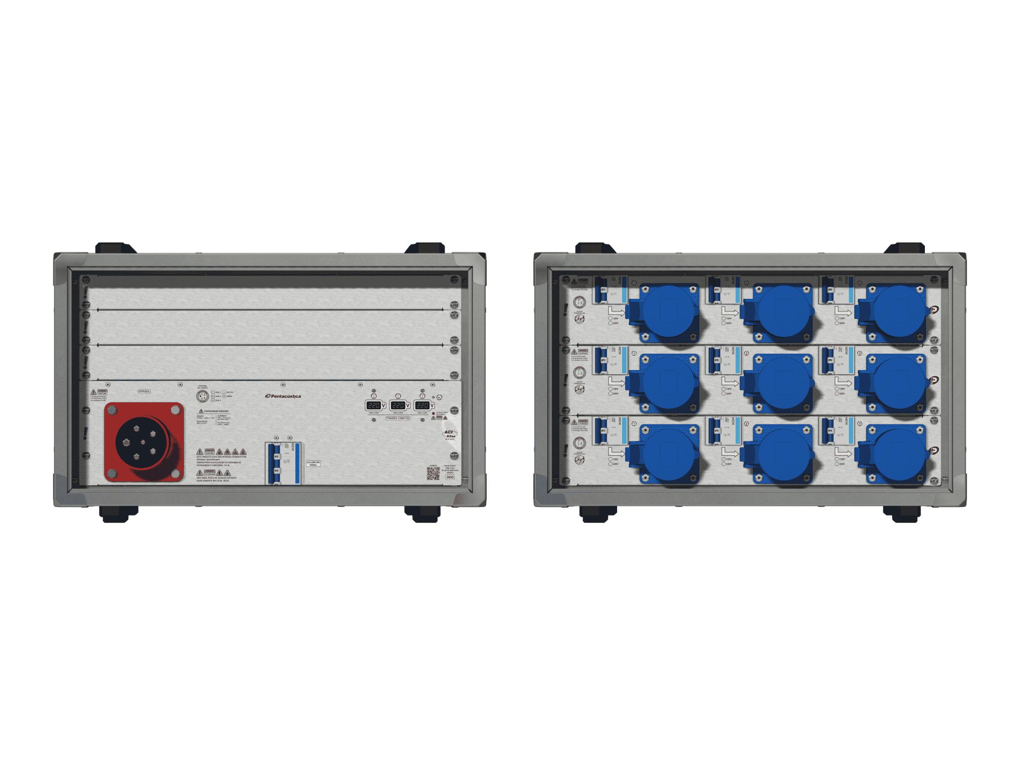 Main power RMP-63se, 5 polos, 3F+N (380VD/220VY), V169