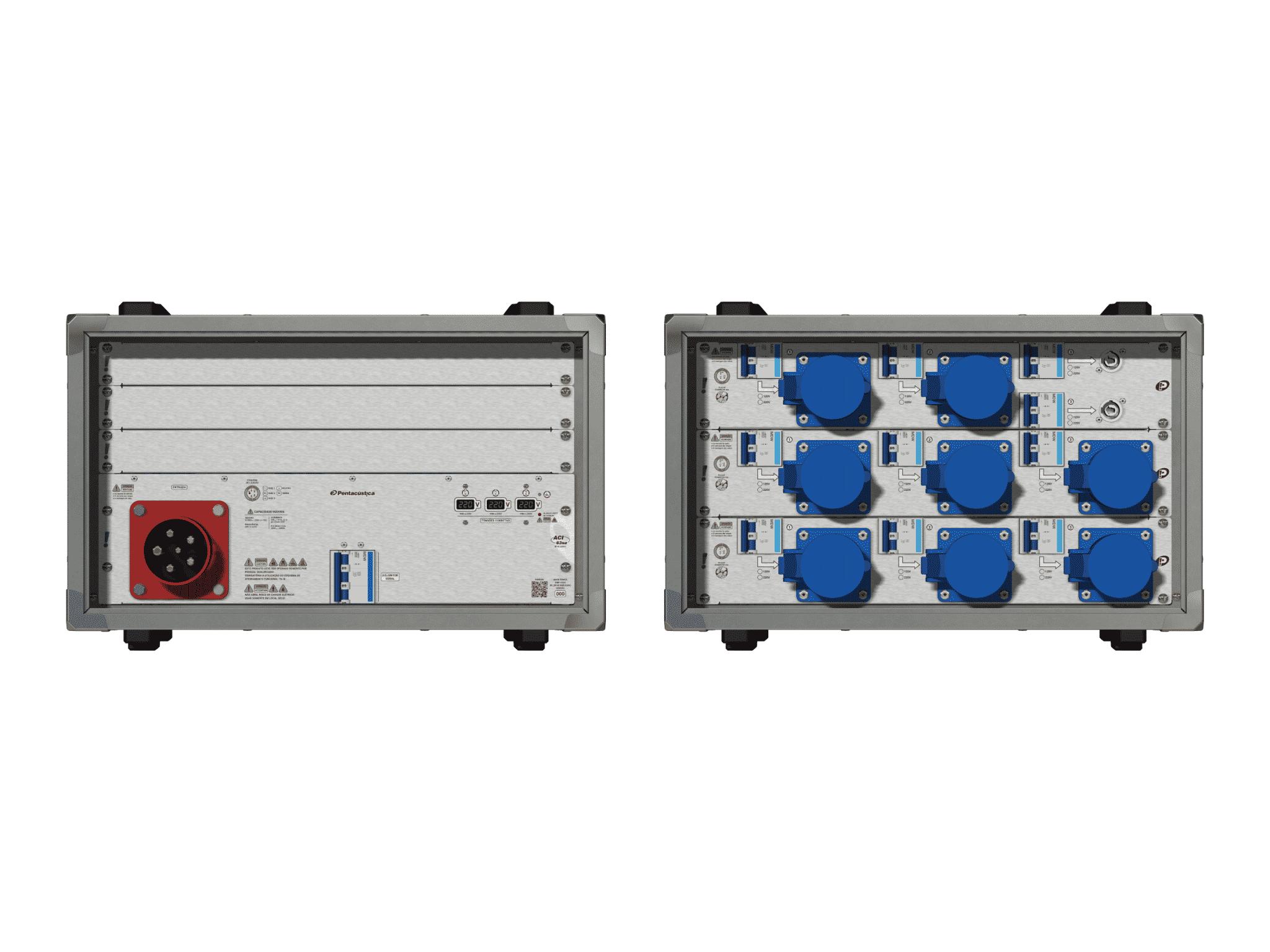 Main power RMP-63se, 5 polos, 3F+N (380VD/220VY), V170
