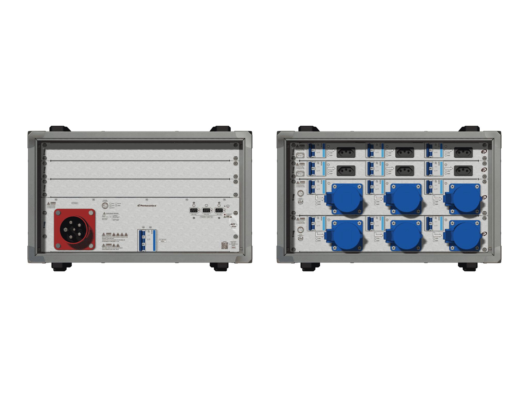Main power RMP-63se, 5 polos, 3F+N (380VD/220VY), V172