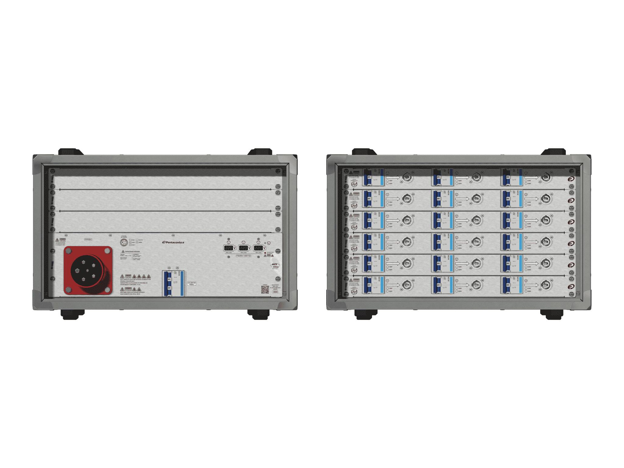 Main power RMP-63se, 5 polos, 3F+N (380VD/220VY), V175