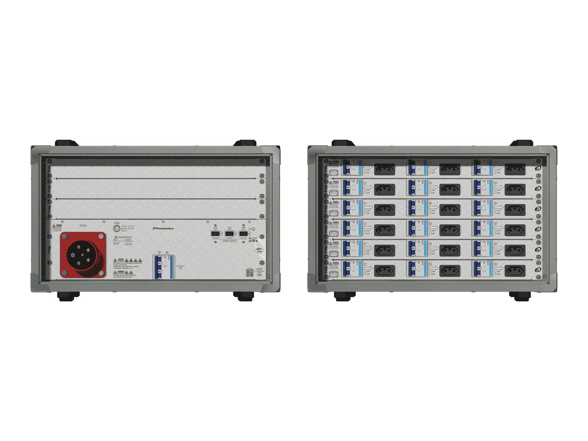 Main power RMP-63se, 5 polos, 3F+N (380VD/220VY), V176