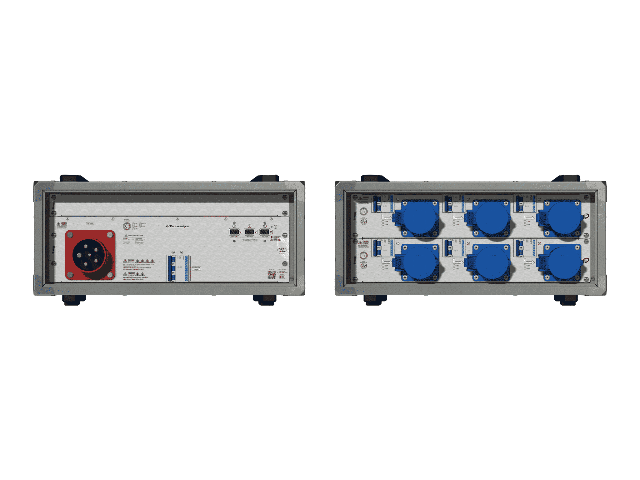 Main power RMP-63se, 5 polos, 3F+N (380VD/220VY), V181