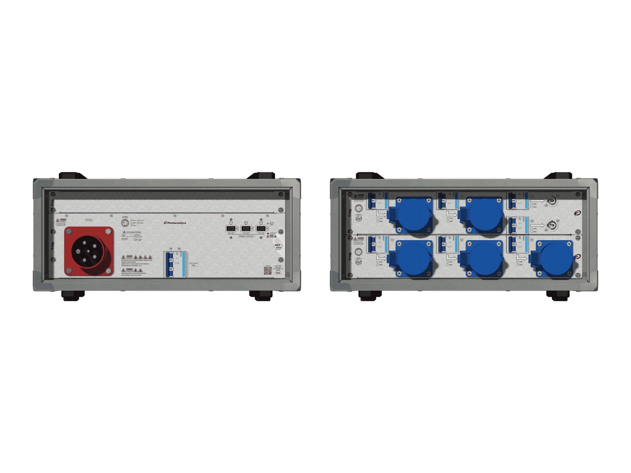 Main power RMP-63se, 5 polos, 3F+N (380VD/220VY), V182