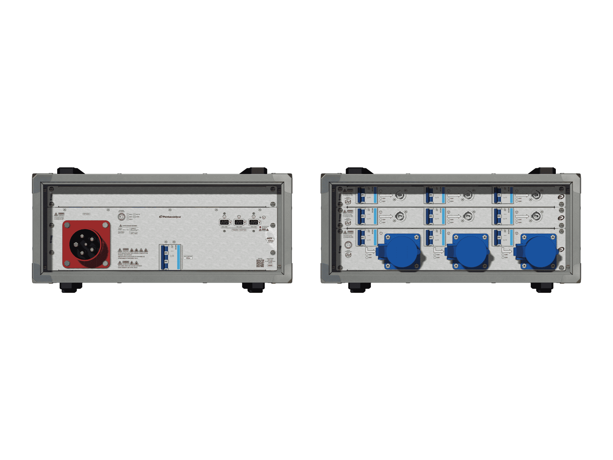 Main power RMP-63se, 5 polos, 3F+N (380VD/220VY), V183