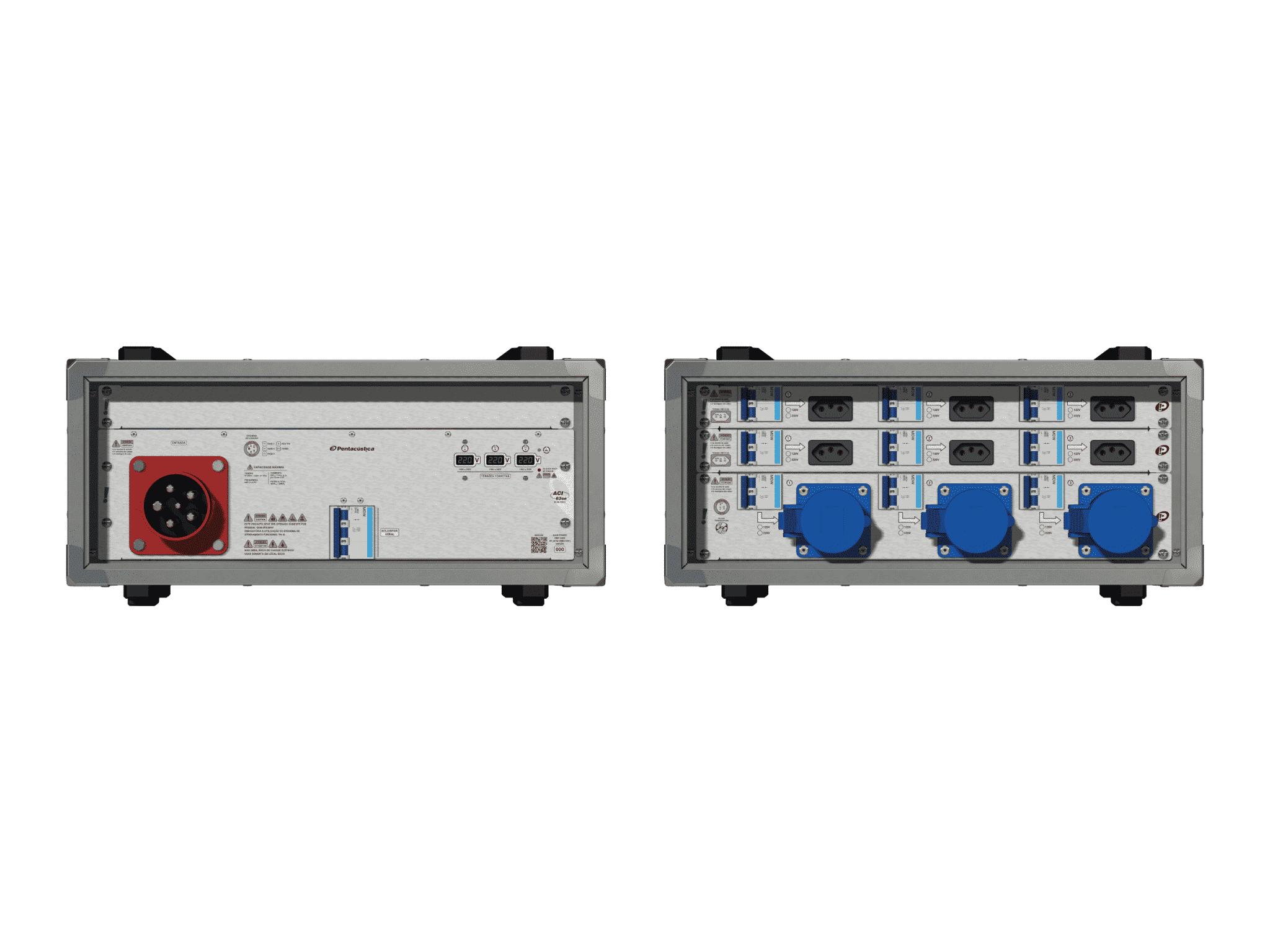 Main power RMP-63se, 5 polos, 3F+N (380VD/220VY), V184