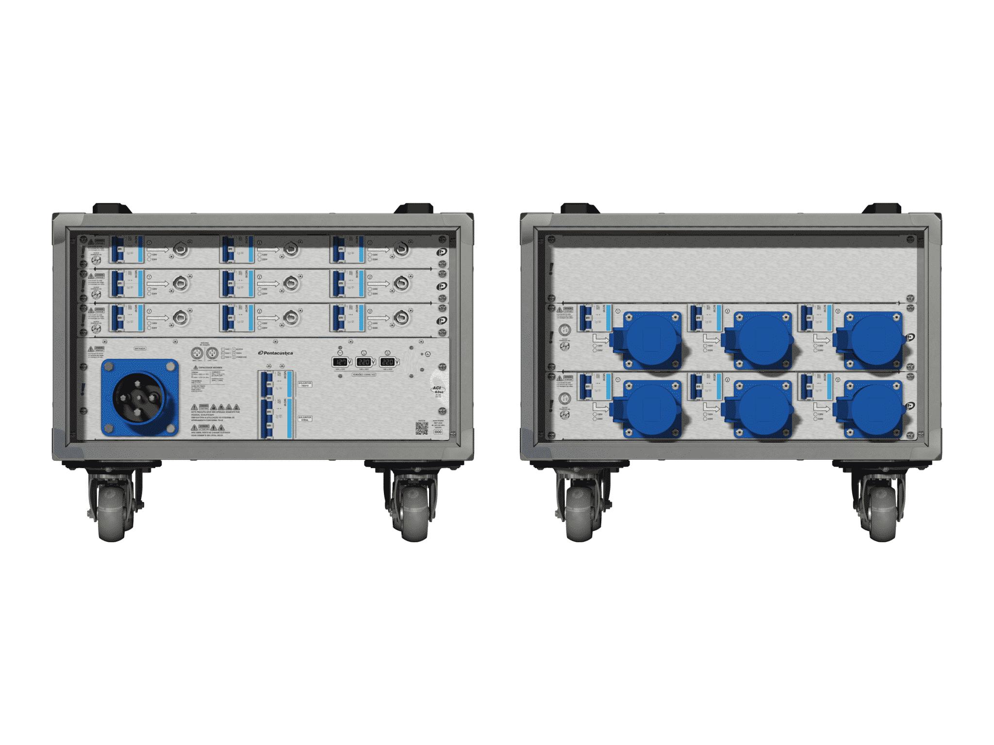 Main power RMP-63se, 4 polos, 2F+CM (Universal), V001