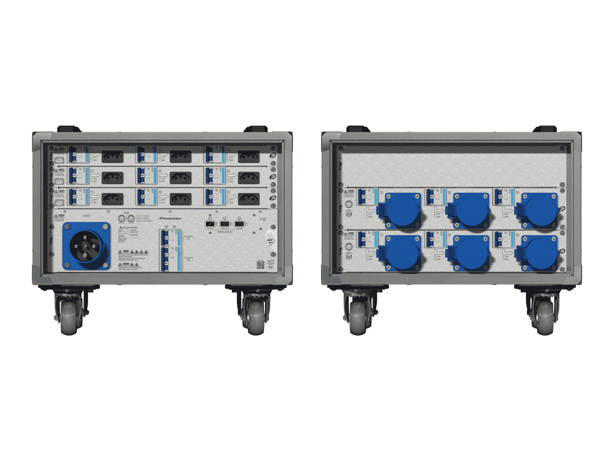 Main power RMP-63se, 4 polos, 2F+CM (Universal), V002