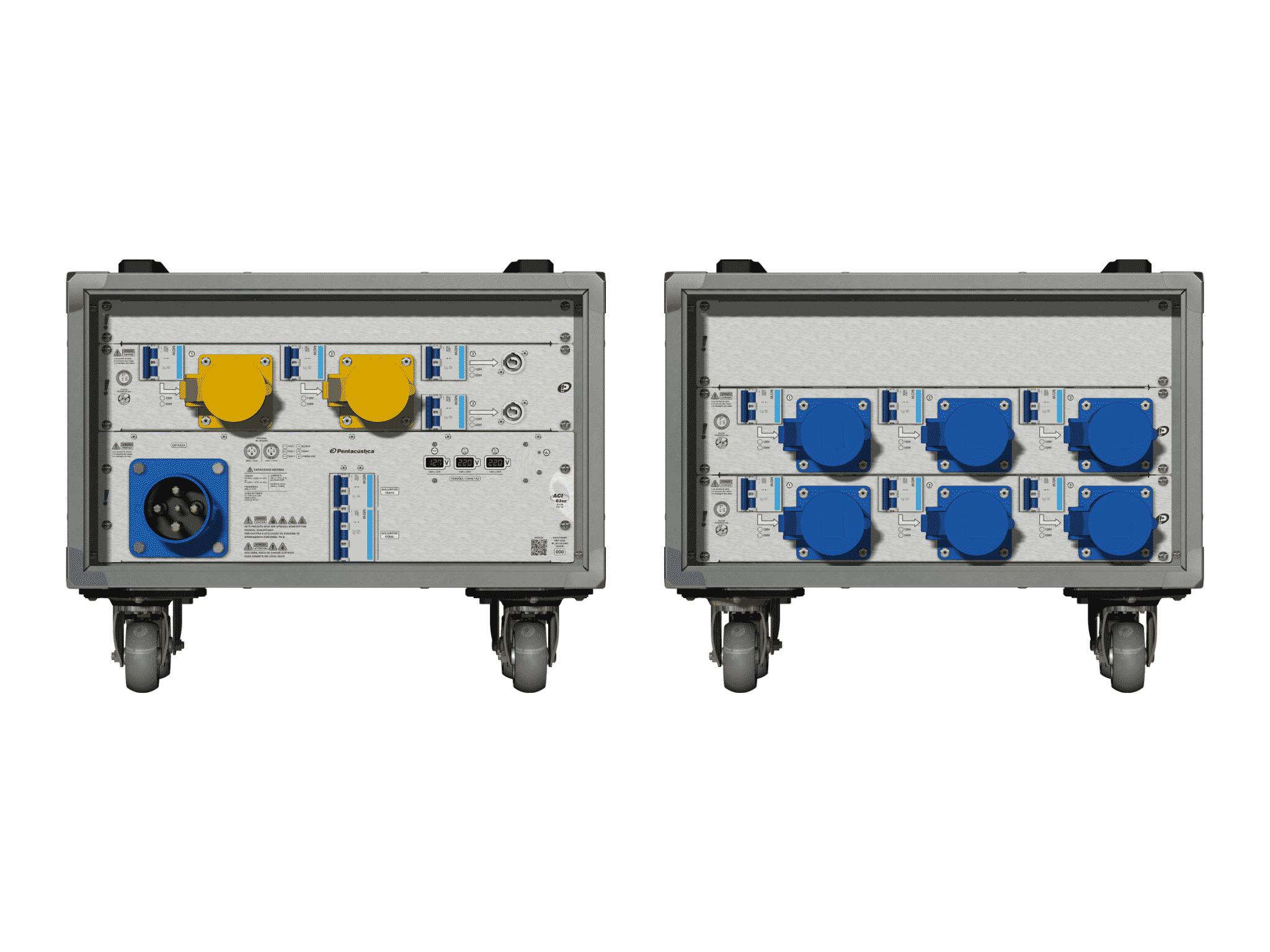 Main power RMP-63se, 4 polos, 2F+CM (Universal), V003
