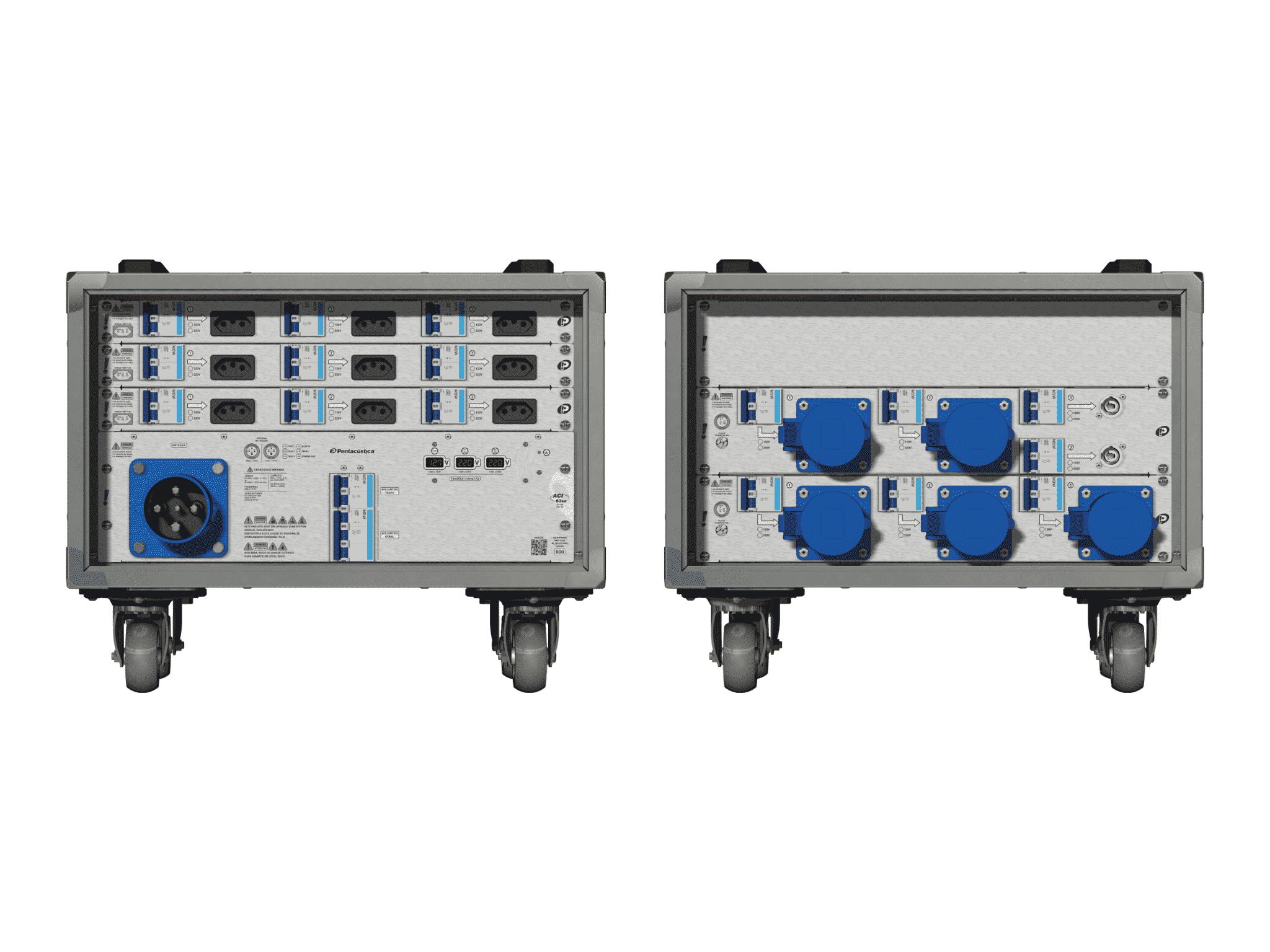 Main power RMP-63se, 4 polos, 2F+CM (Universal), V006
