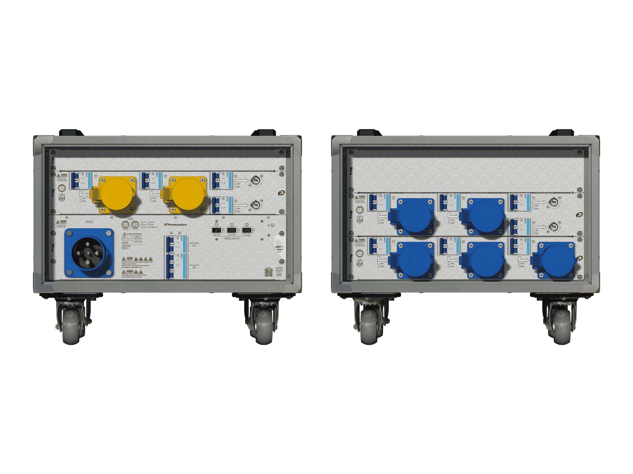 Main power RMP-63se, 4 polos, 2F+CM (Universal), V007