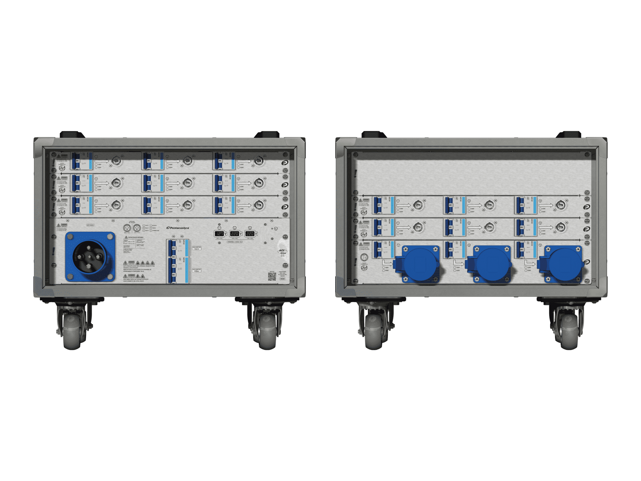 Main power RMP-63se, 4 polos, 2F+CM (Universal), V013