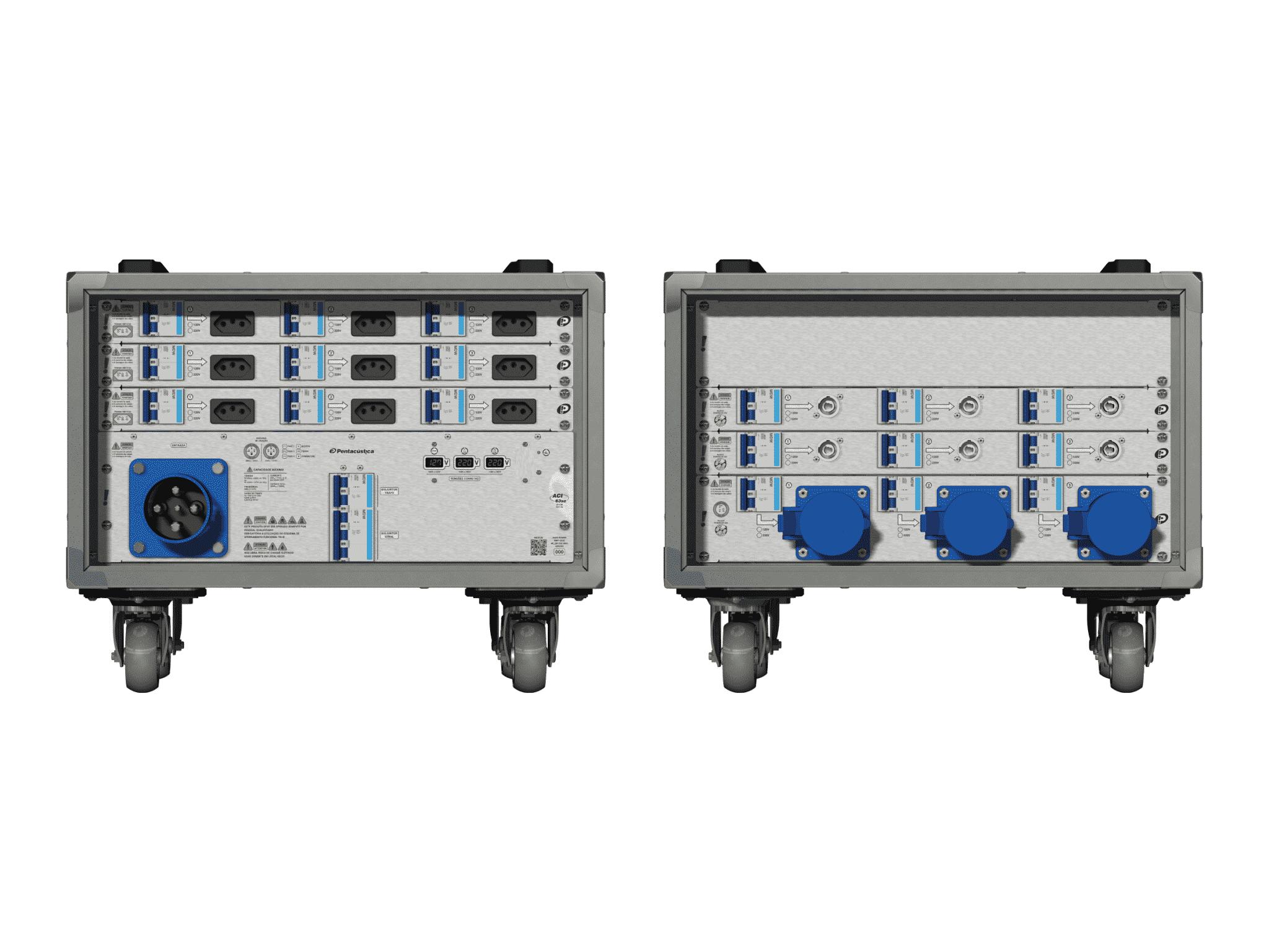 Main power RMP-63se, 4 polos, 2F+CM (Universal), V014