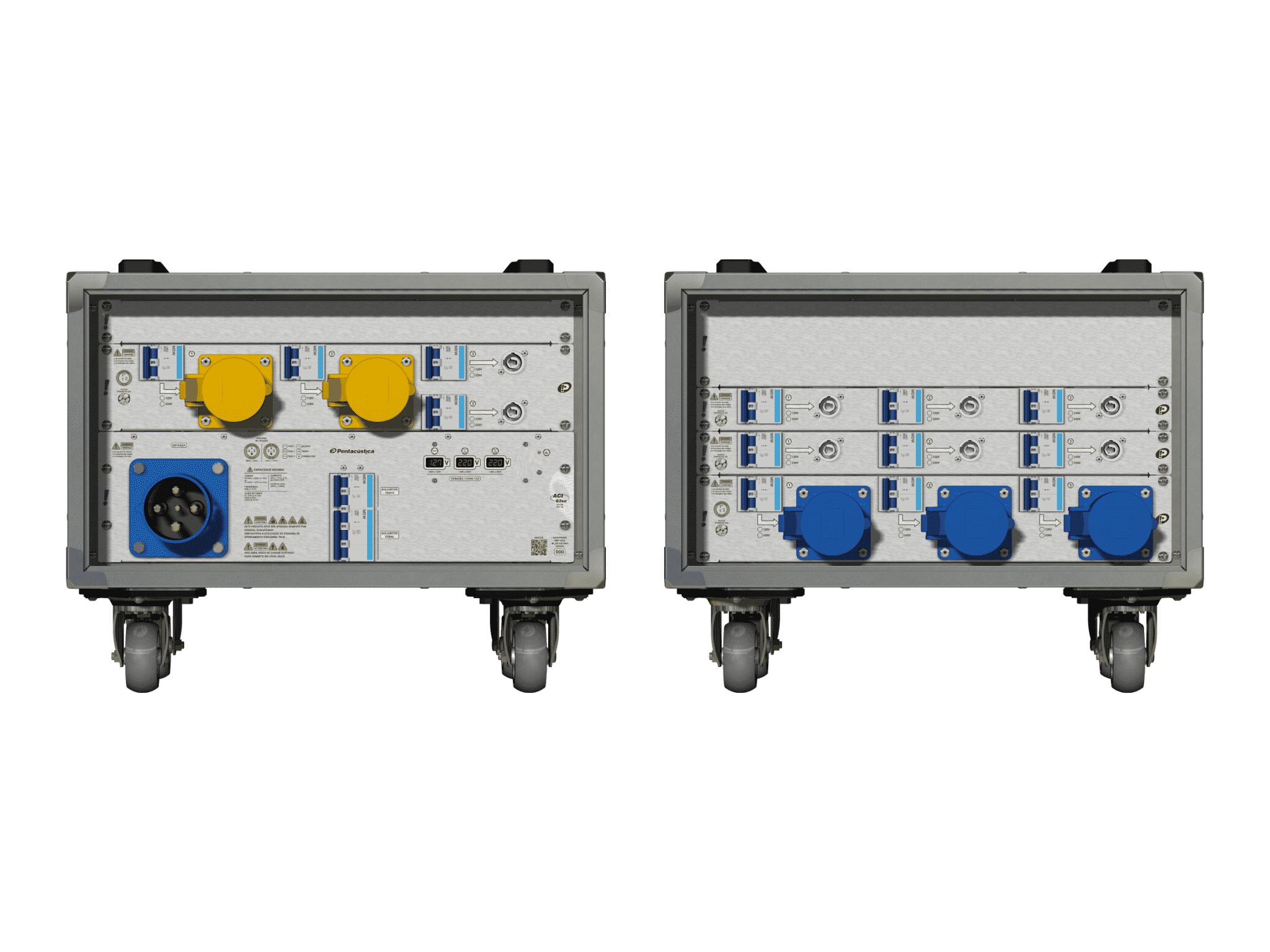 Main power RMP-63se, 4 polos, 2F+CM (Universal), V015