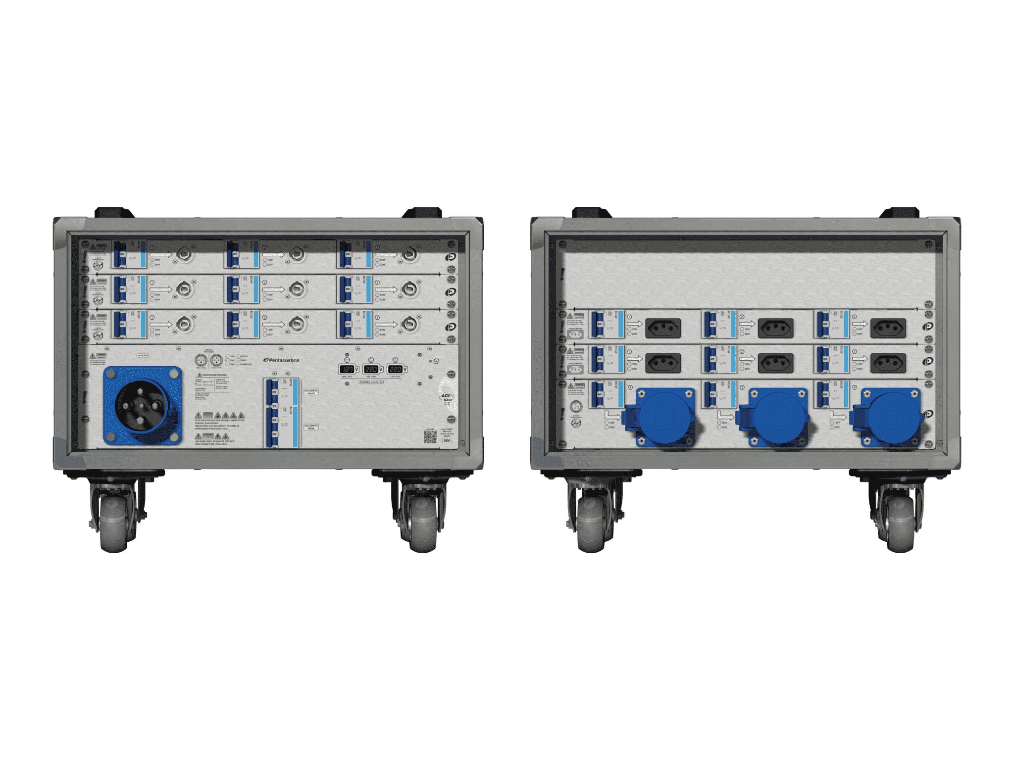 Main power RMP-63se, 4 polos, 2F+CM (Universal), V017