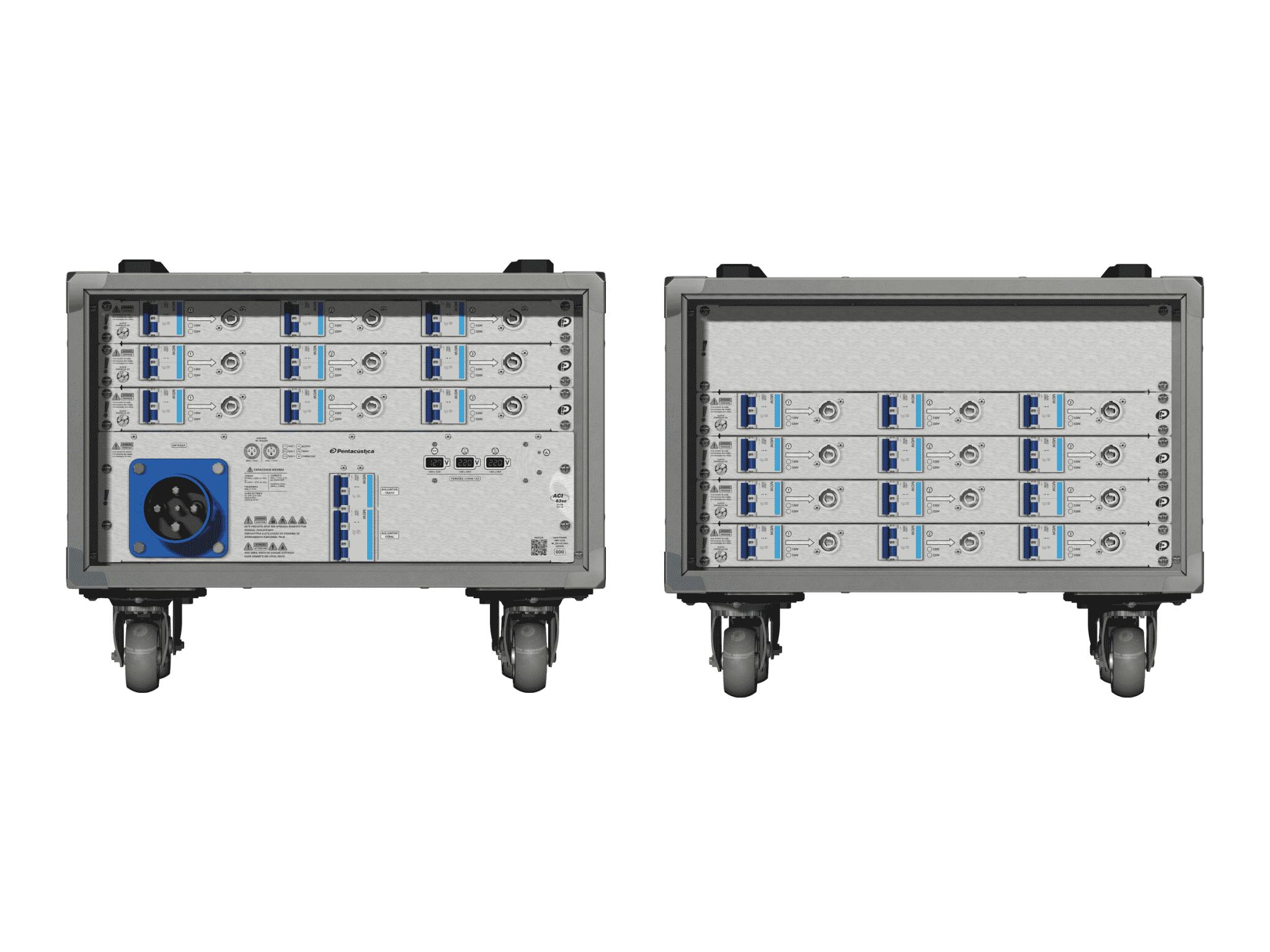 Main power RMP-63se, 4 polos, 2F+CM (Universal), V021