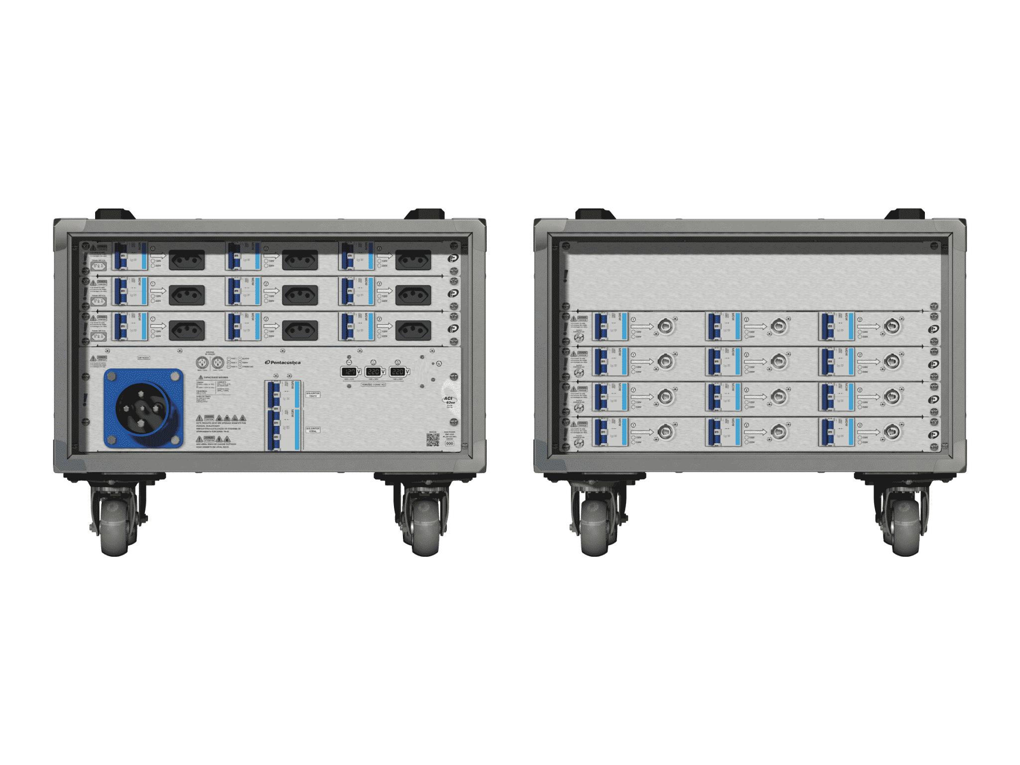 Main power RMP-63se, 4 polos, 2F+CM (Universal), V022