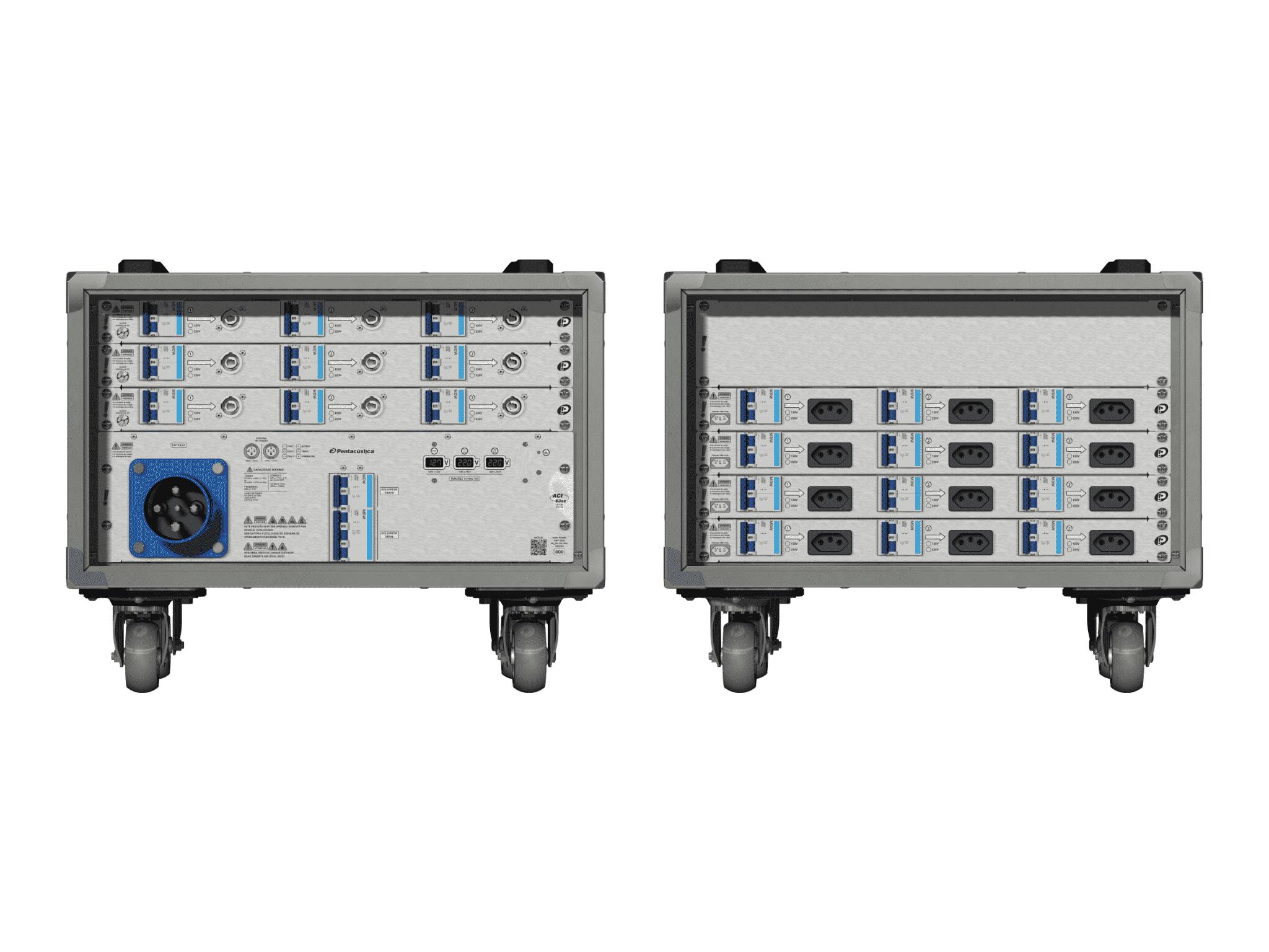 Main power RMP-63se, 4 polos, 2F+CM (Universal), V025