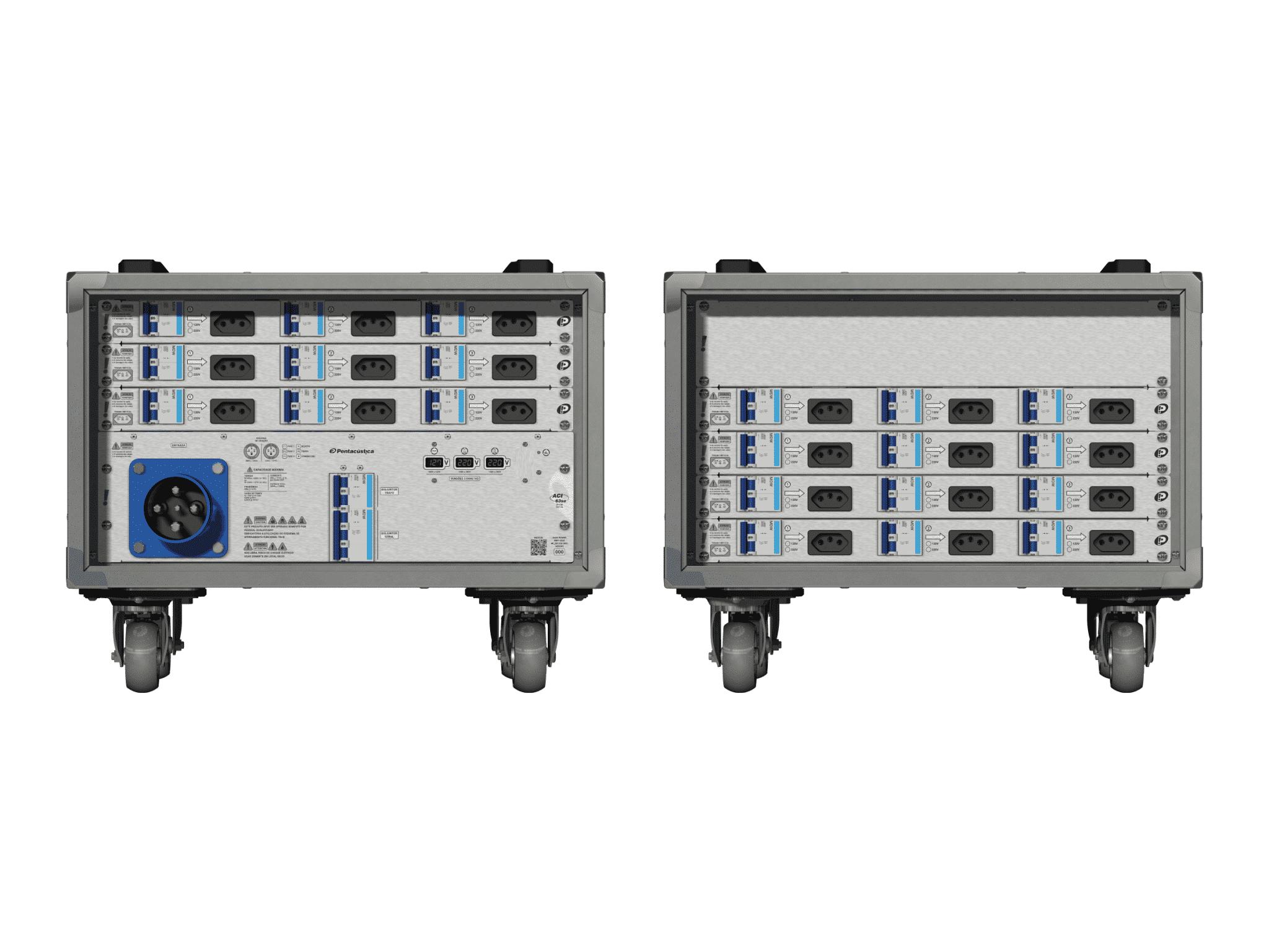 Main power RMP-63se, 4 polos, 2F+CM (Universal), V026