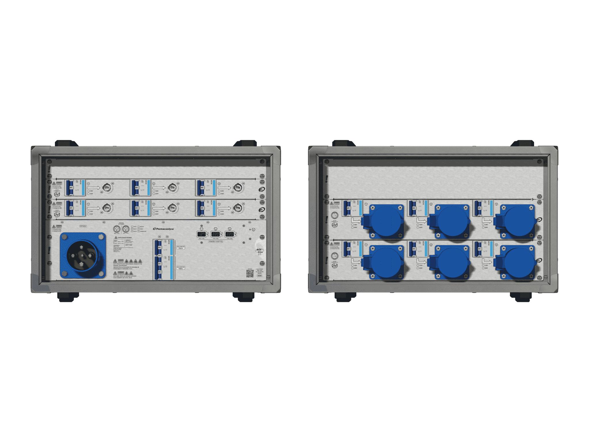 Main power RMP-63se, 4 polos, 2F+CM (Universal), V037