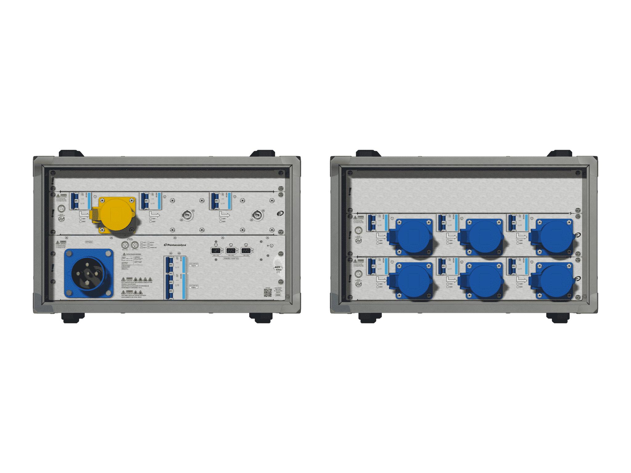 Main power RMP-63se, 4 polos, 2F+CM (Universal), V039