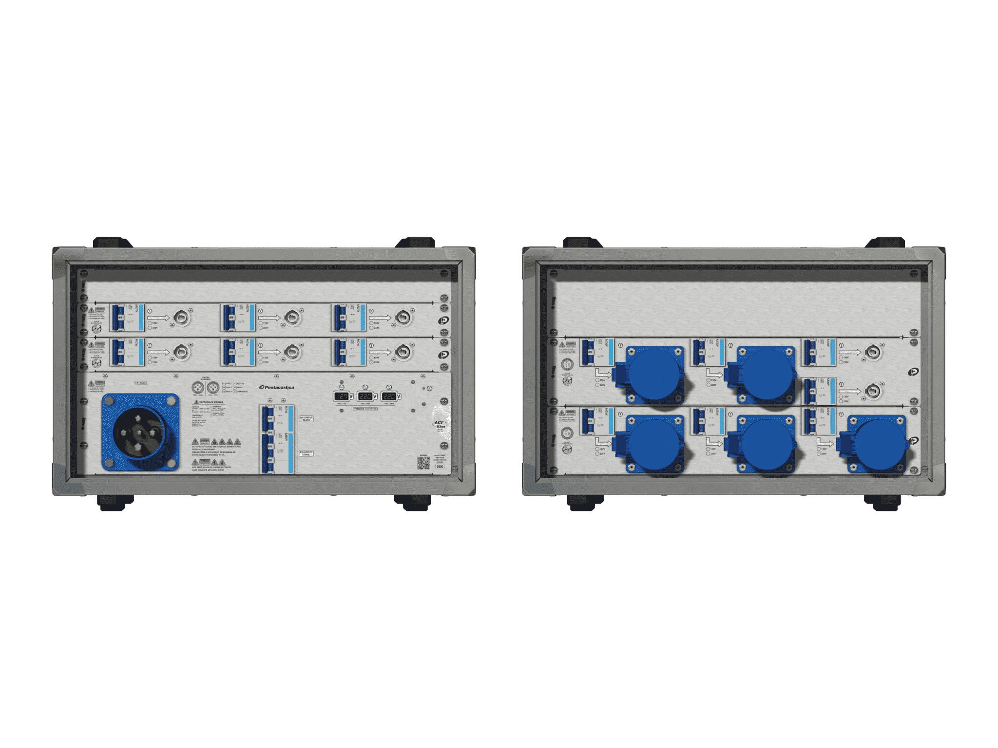 Main power RMP-63se, 4 polos, 2F+CM (Universal), V041