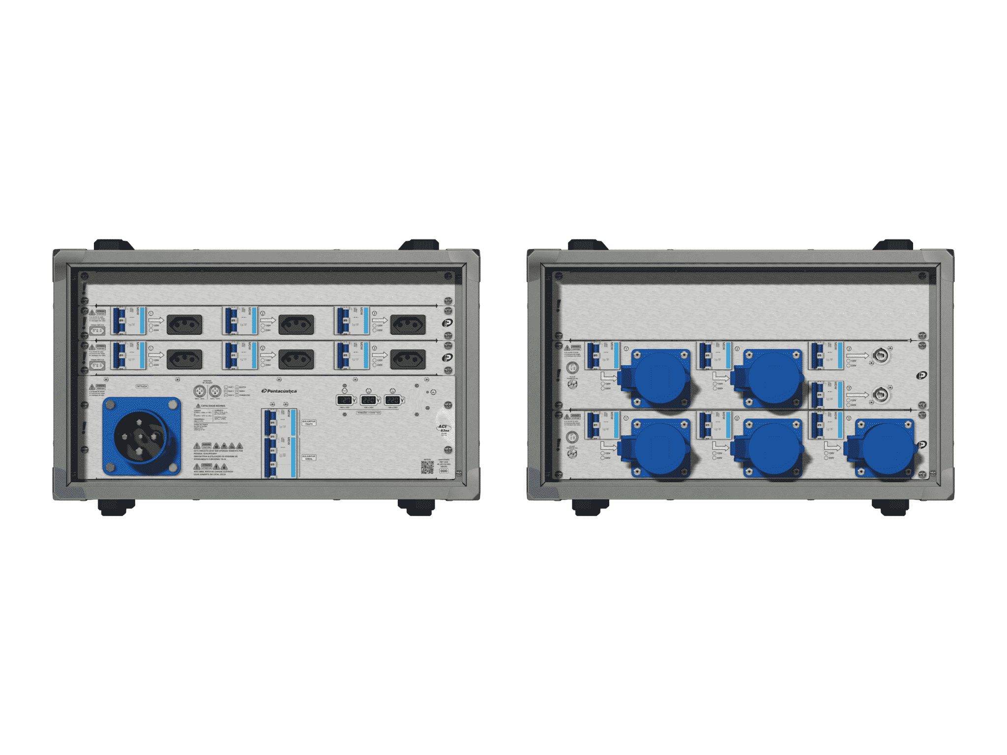 Main power RMP-63se, 4 polos, 2F+CM (Universal), V042
