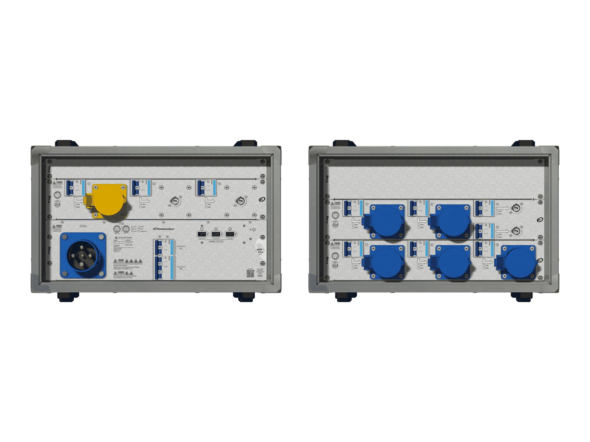 Main power RMP-63se, 4 polos, 2F+CM (Universal), V043
